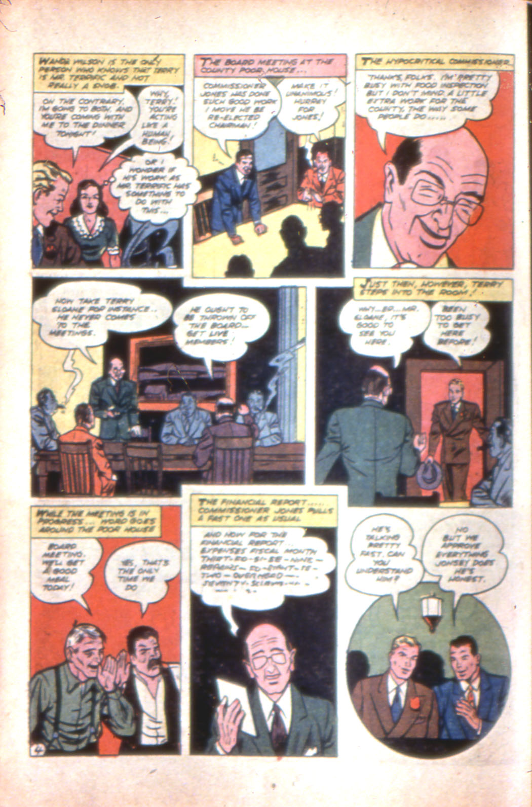 Read online Sensation (Mystery) Comics comic -  Issue #7 - 28