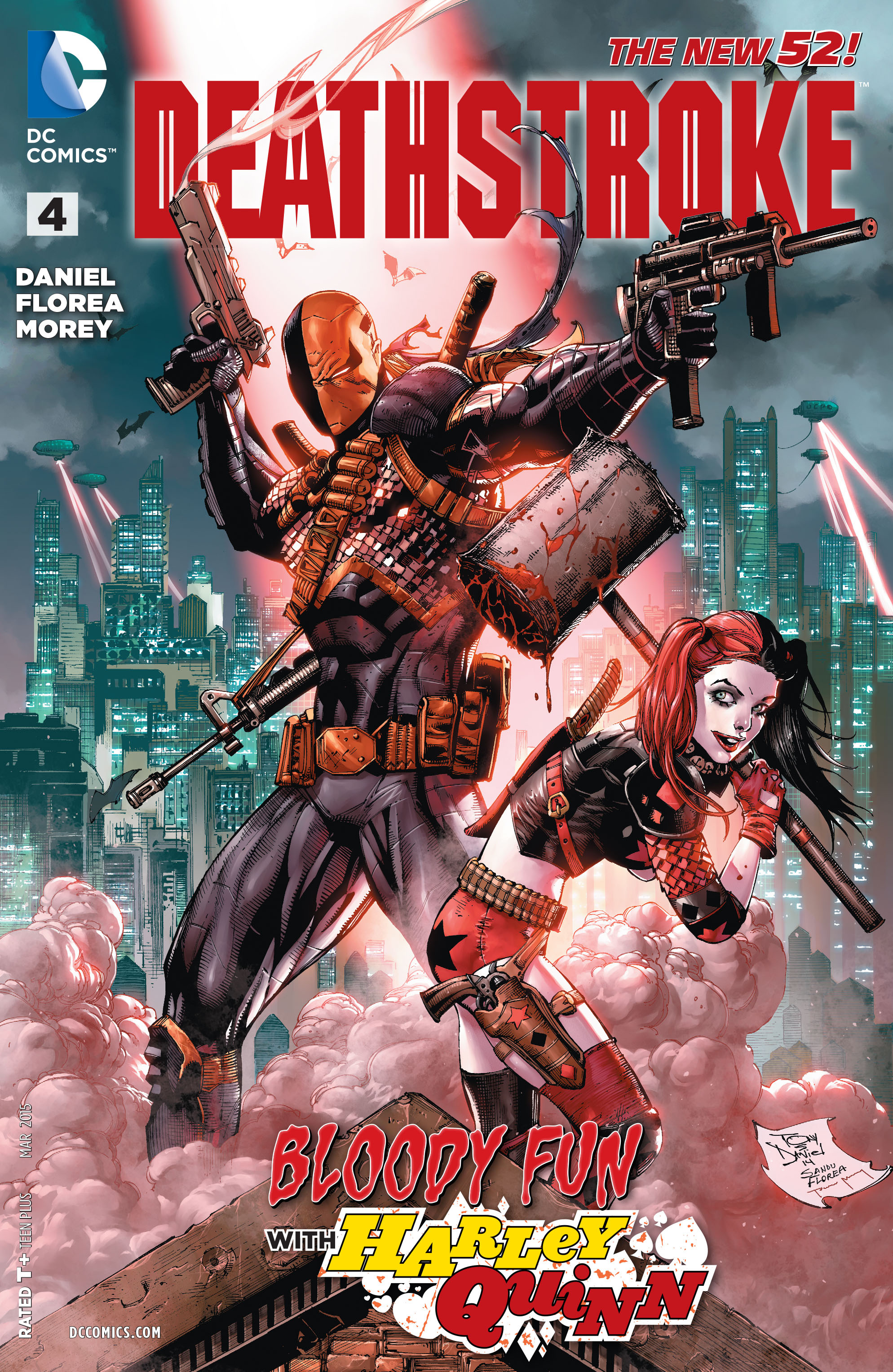 Deathstroke (2014) issue 4 - Page 1