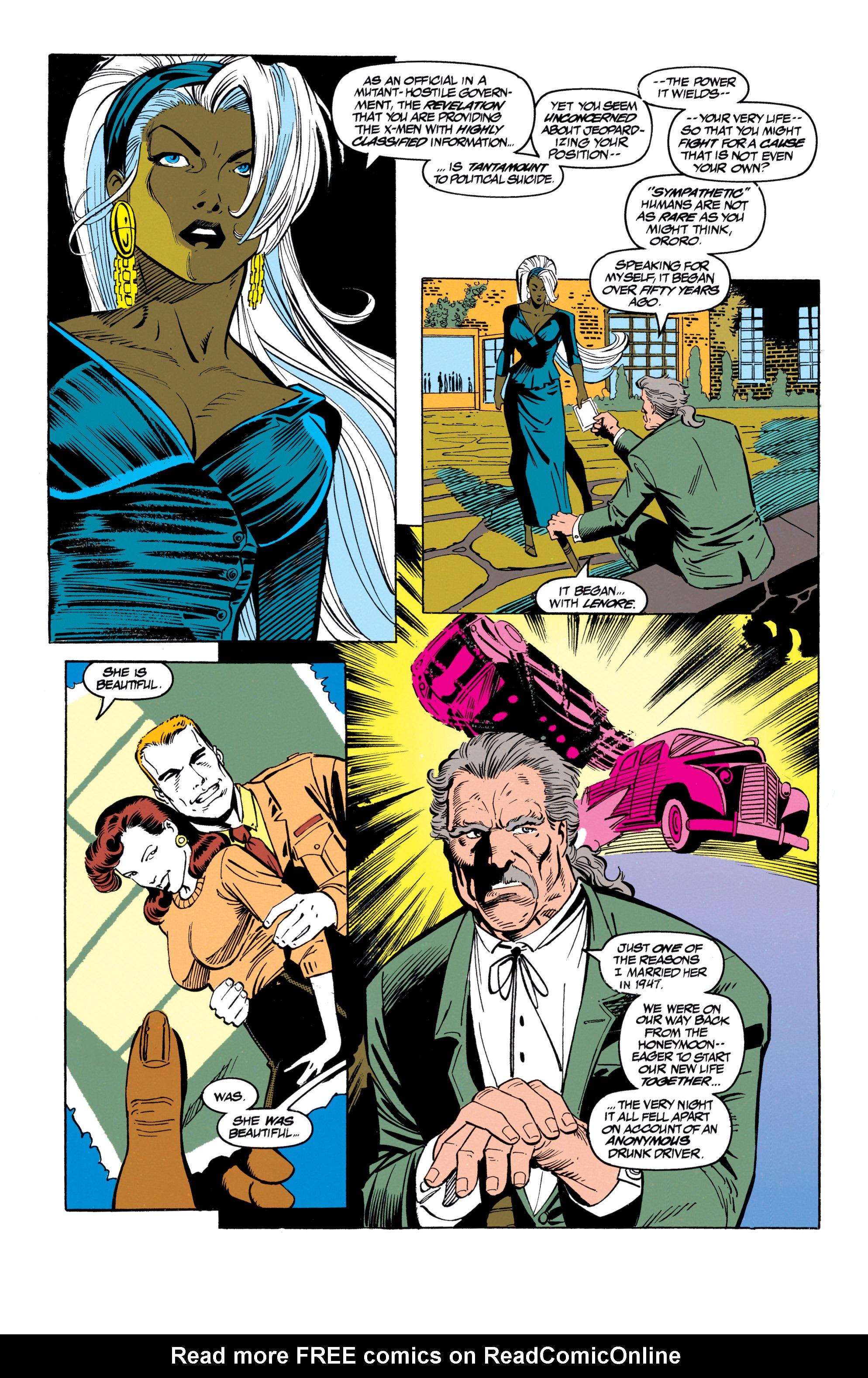 Read online Uncanny X-Men (1963) comic -  Issue #305 - 10