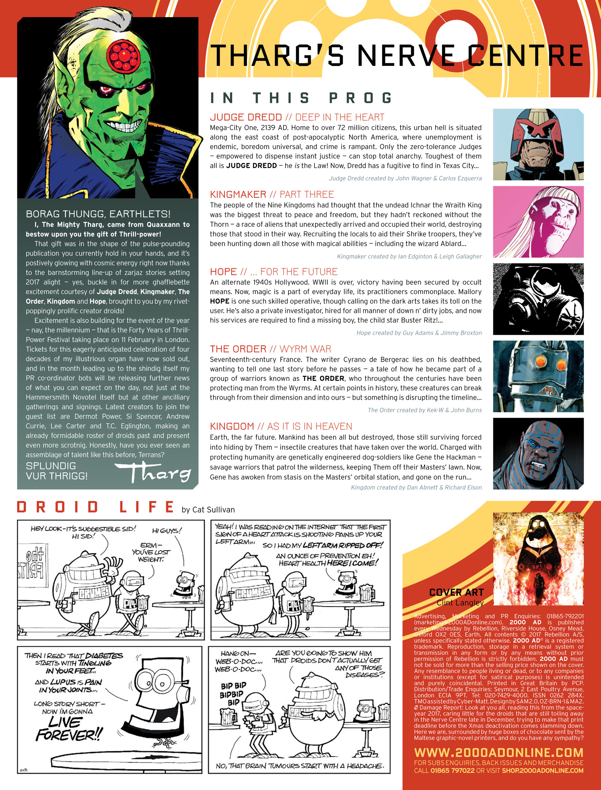 Read online 2000 AD comic -  Issue #2013 - 2