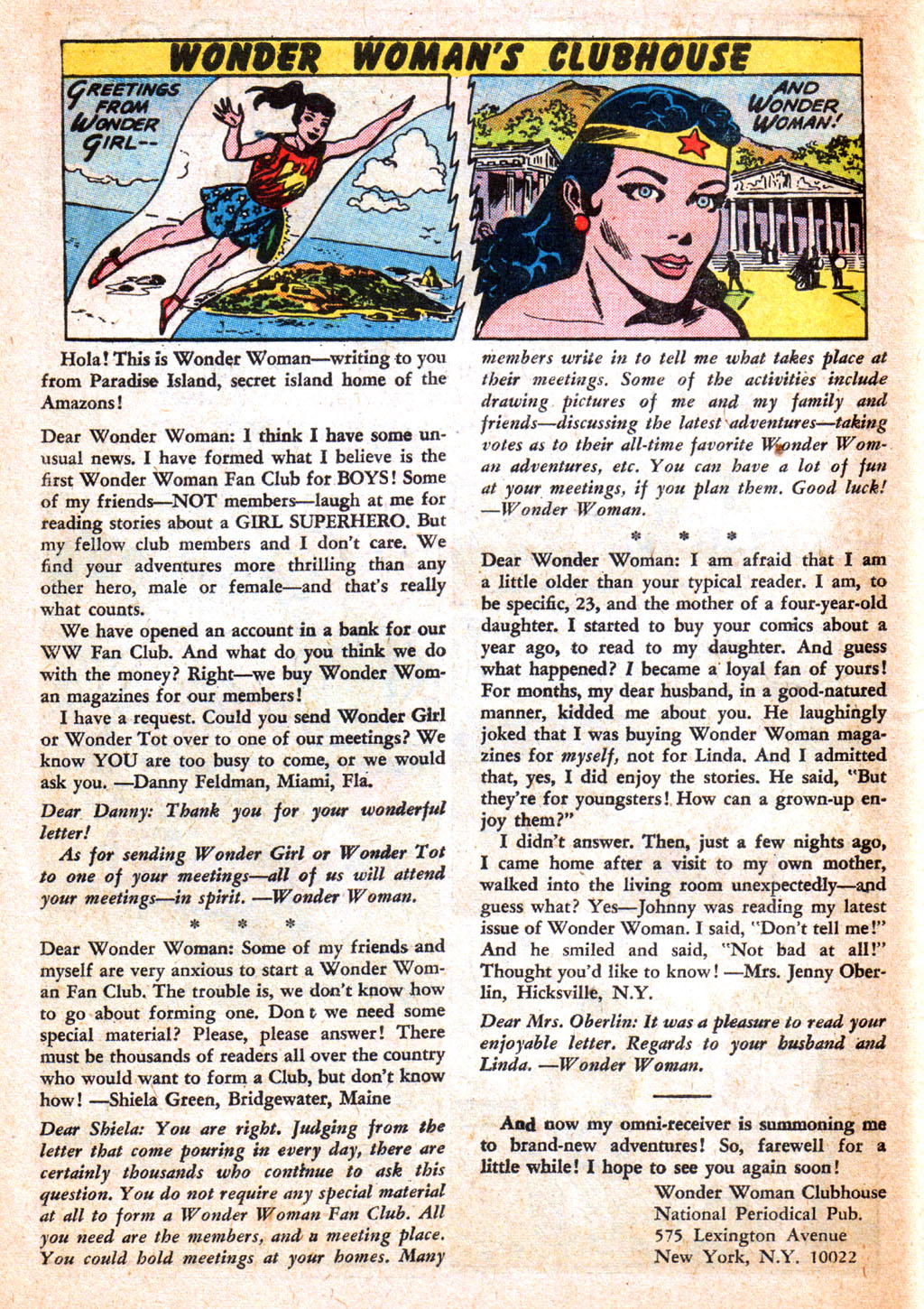 Read online Wonder Woman (1942) comic -  Issue #156 - 10