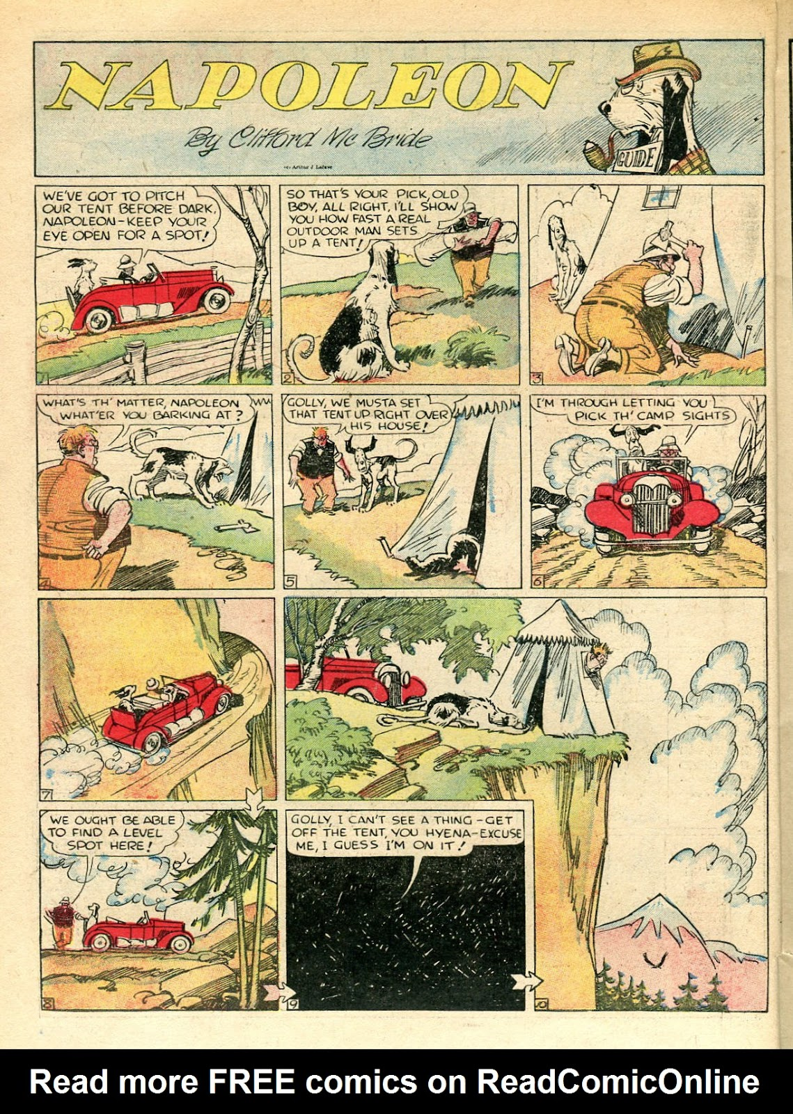 Read online Famous Funnies comic -  Issue #33 - 10
