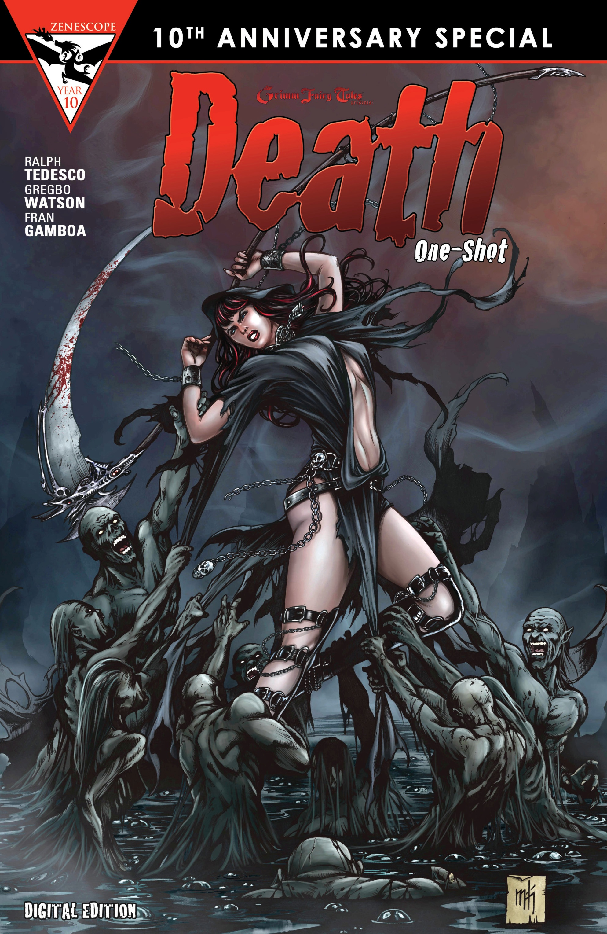 Read online Grimm Fairy Tales presents Death comic -  Issue # Full - 1