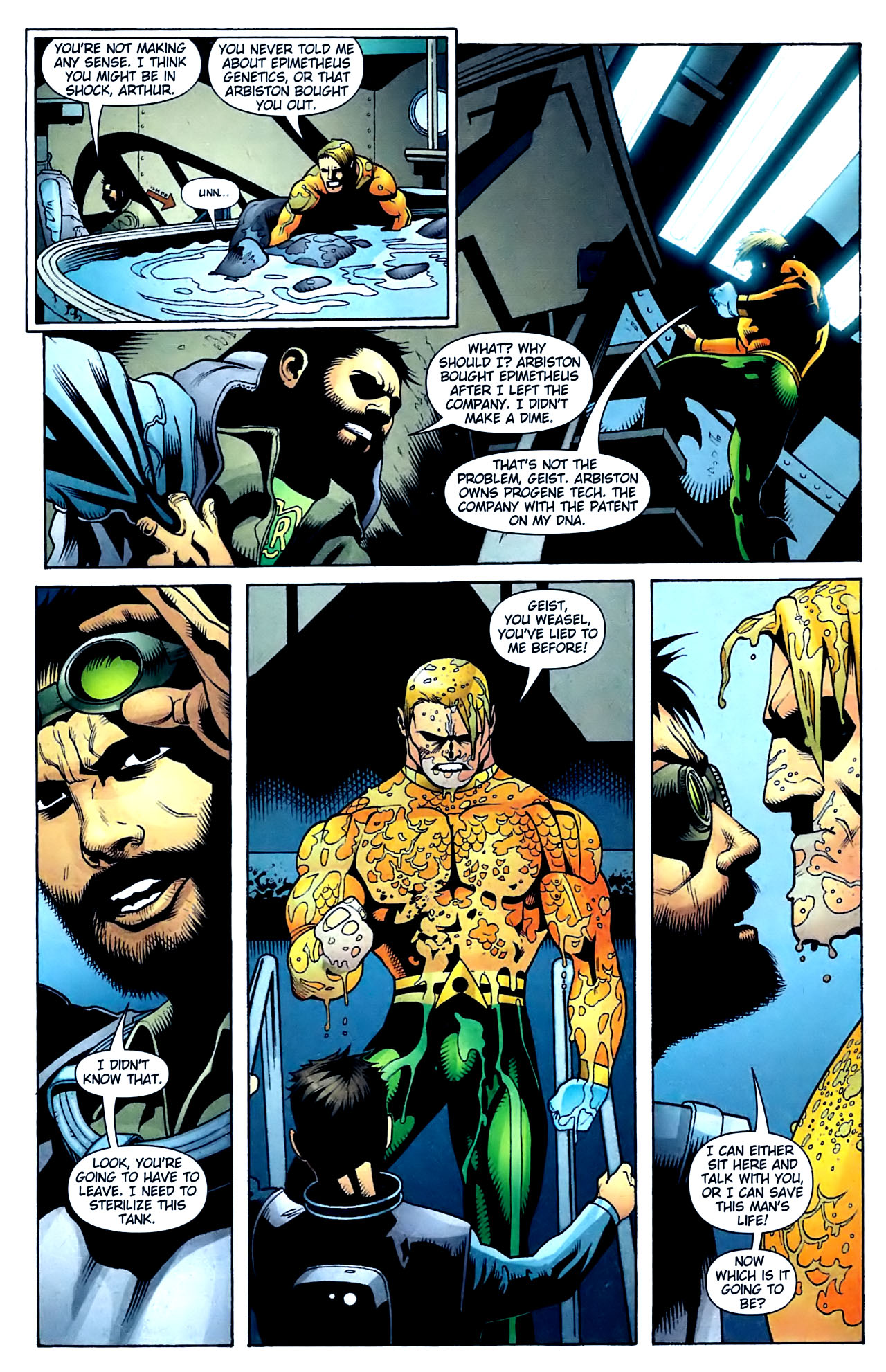 Read online Aquaman (2003) comic -  Issue #32 - 16