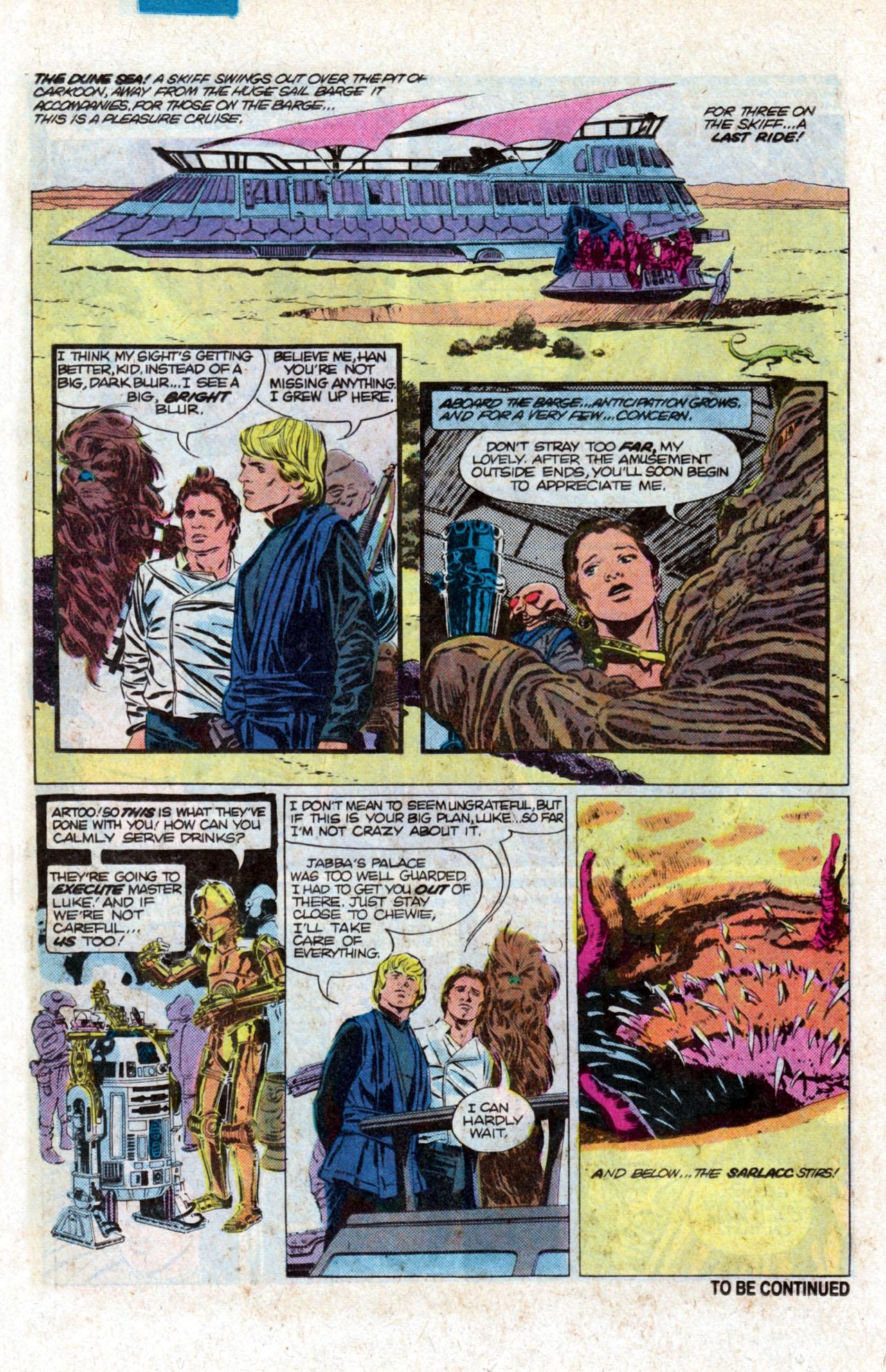 Read online Star Wars: Return of the Jedi comic -  Issue #1 - 25