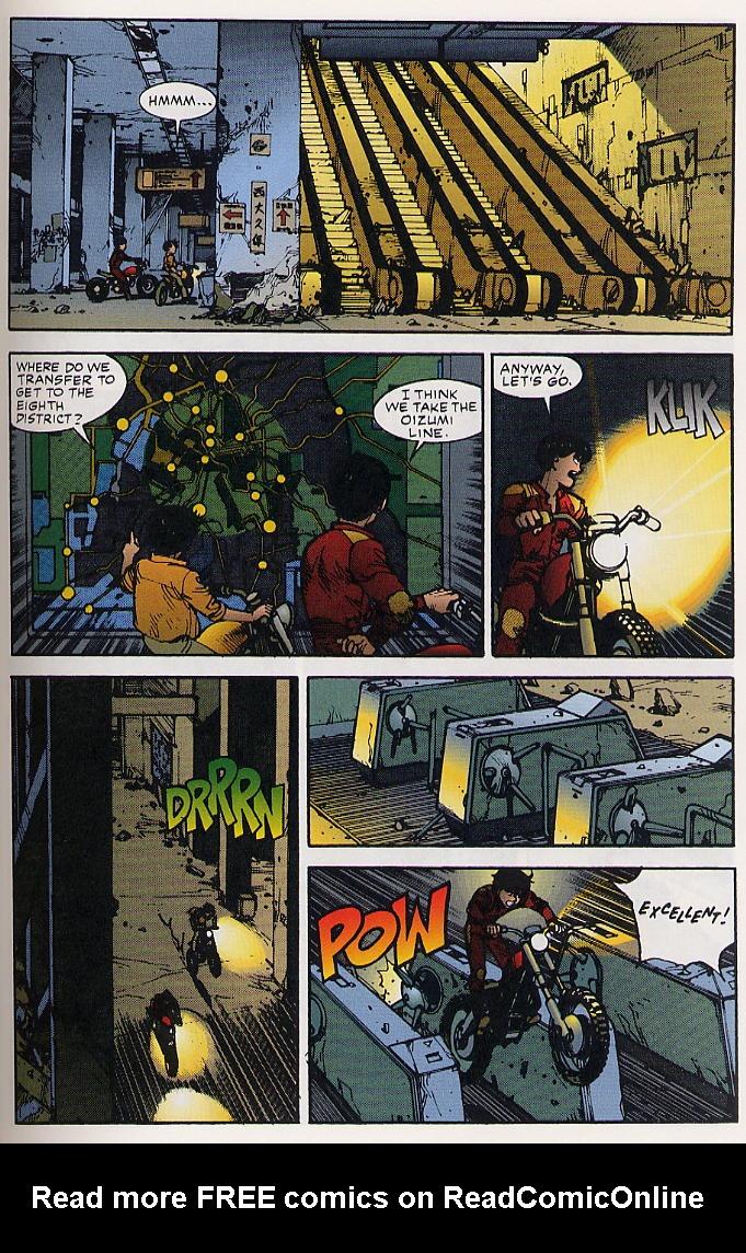Read online Akira comic -  Issue #25 - 30