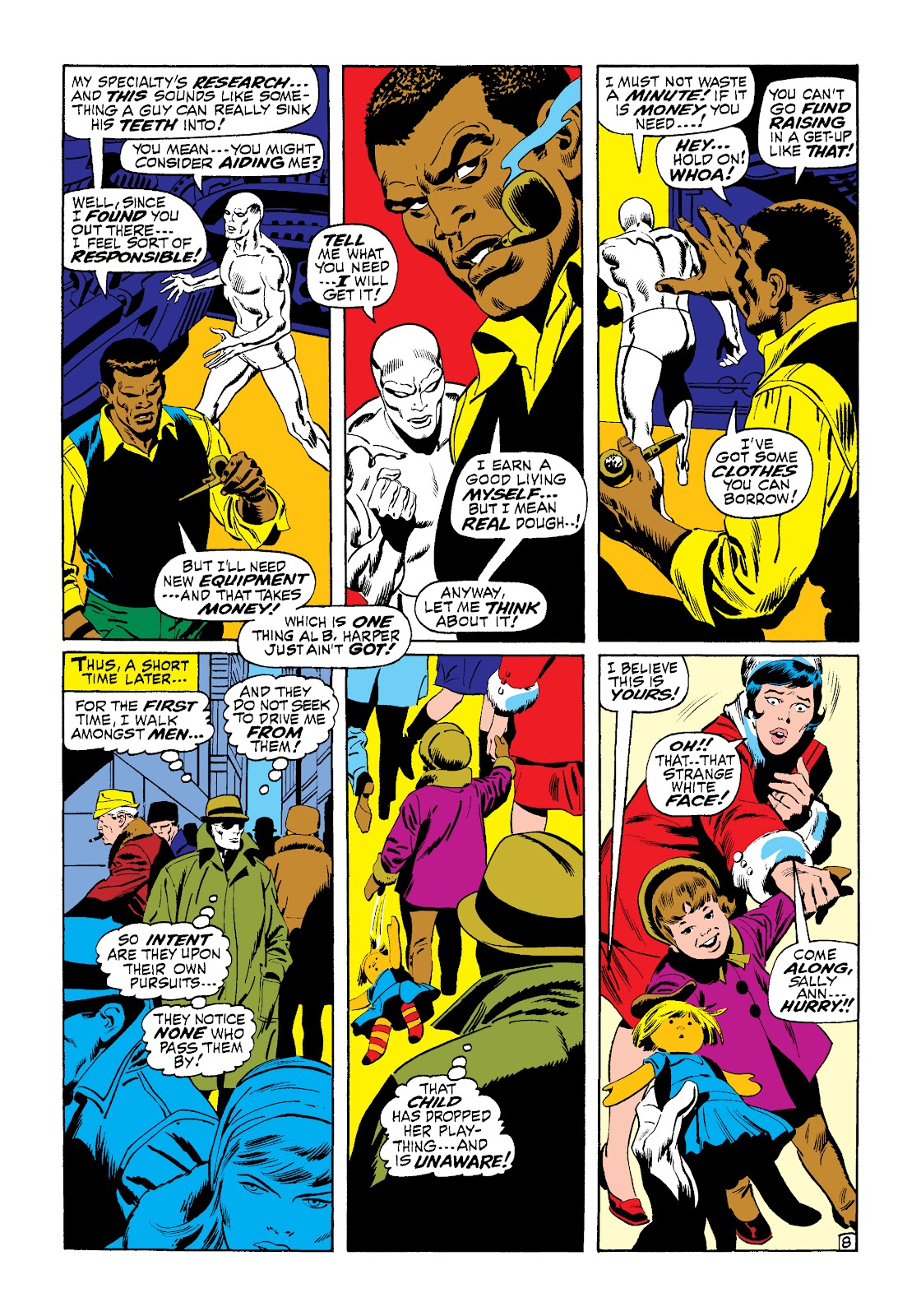 Read online Marvel Masterworks: The Silver Surfer comic - Issue # TPB 1 (Part 2) - 76