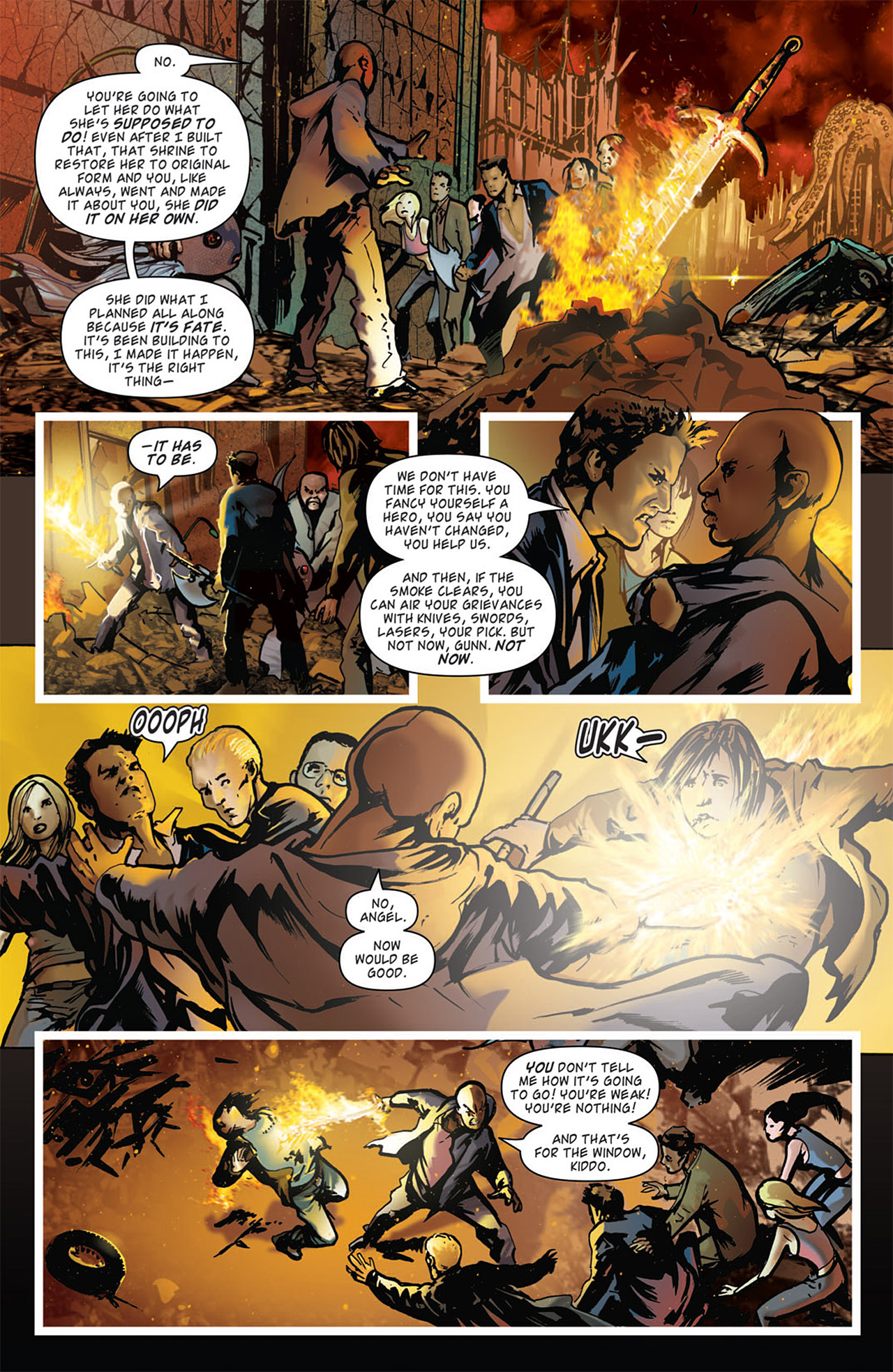 Read online Angel: After The Fall comic -  Issue #15 - 15