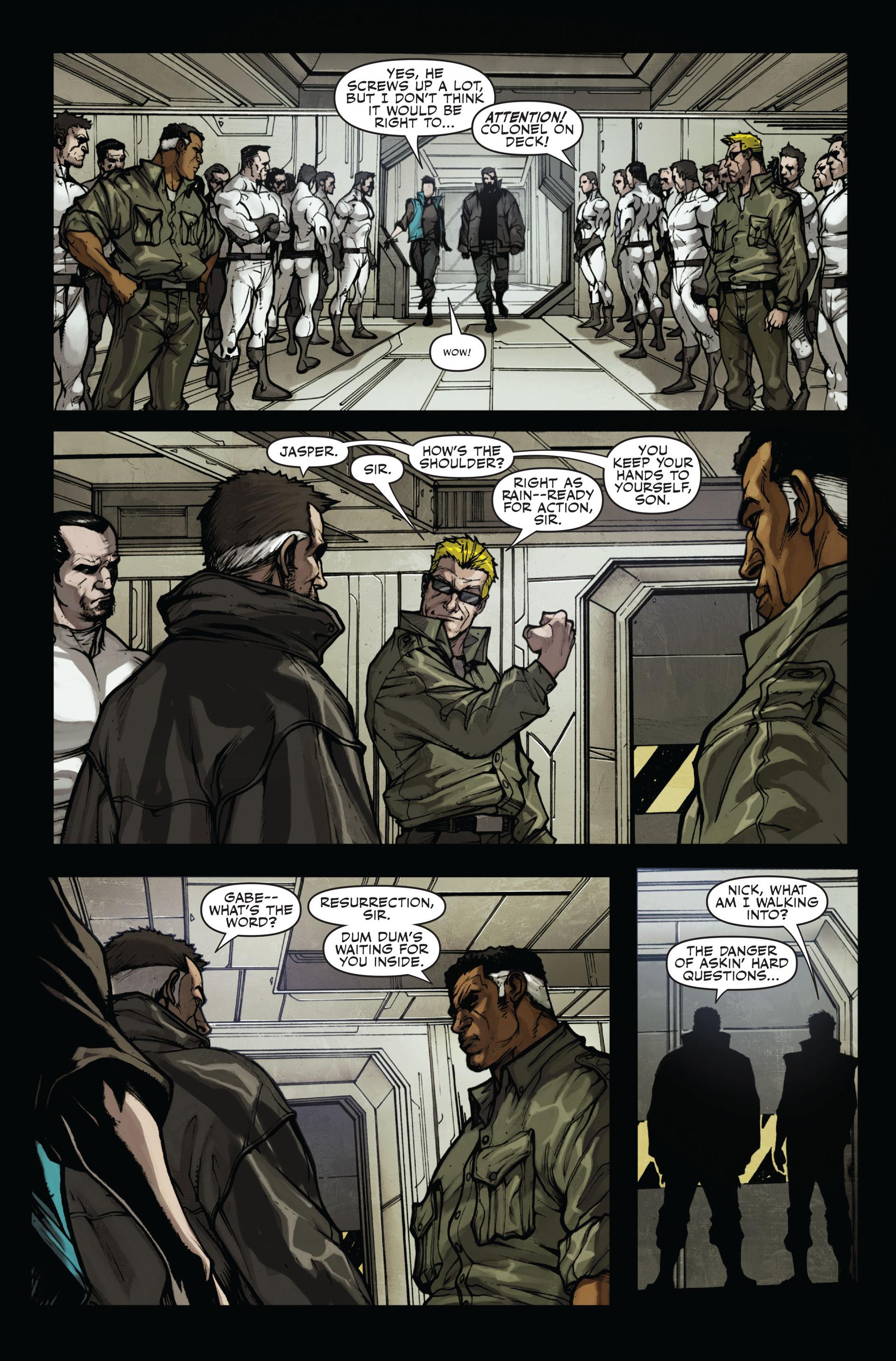 Read online Secret Warriors comic -  Issue #11 - 22