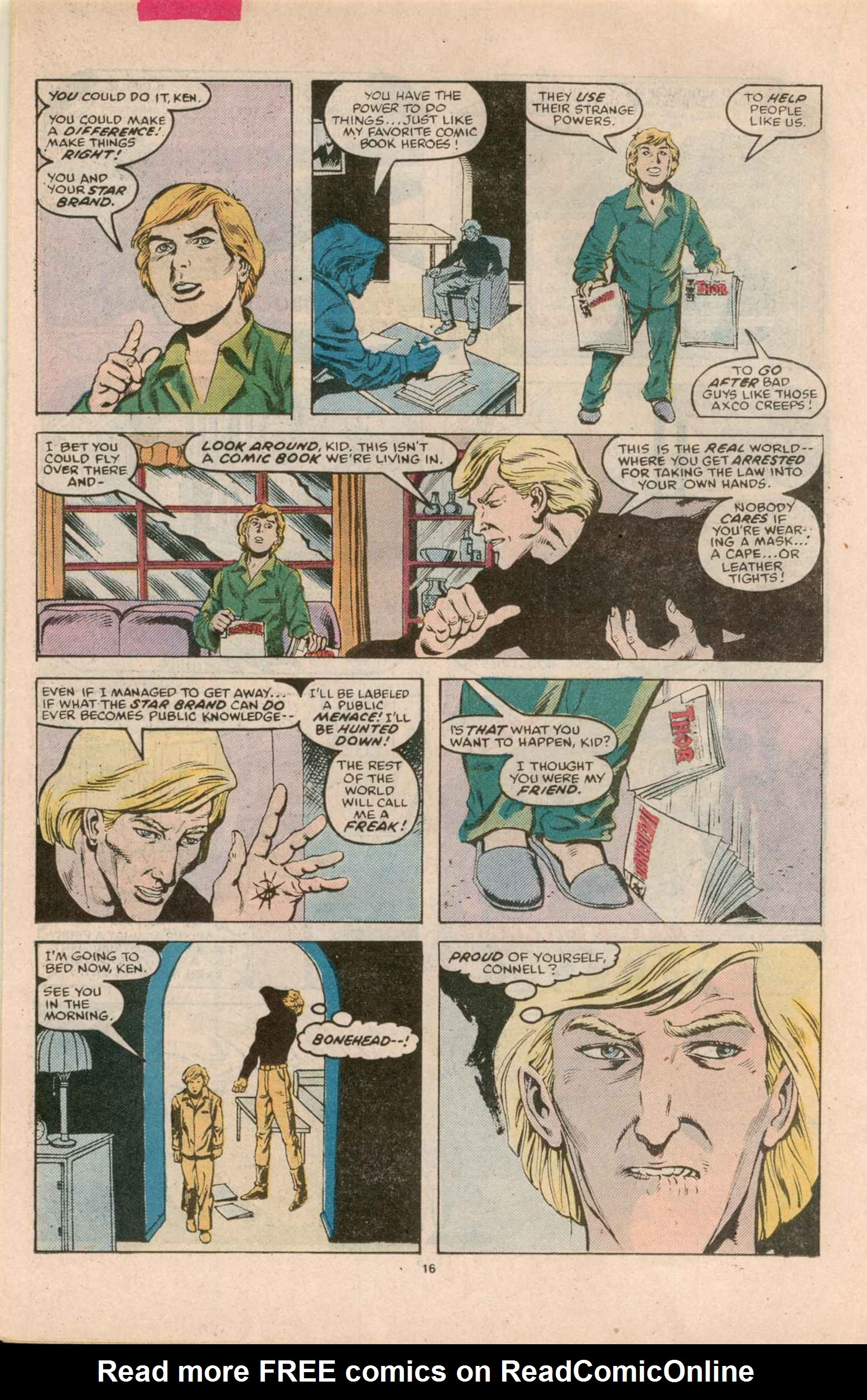 Read online Star Brand comic -  Issue #8 - 17