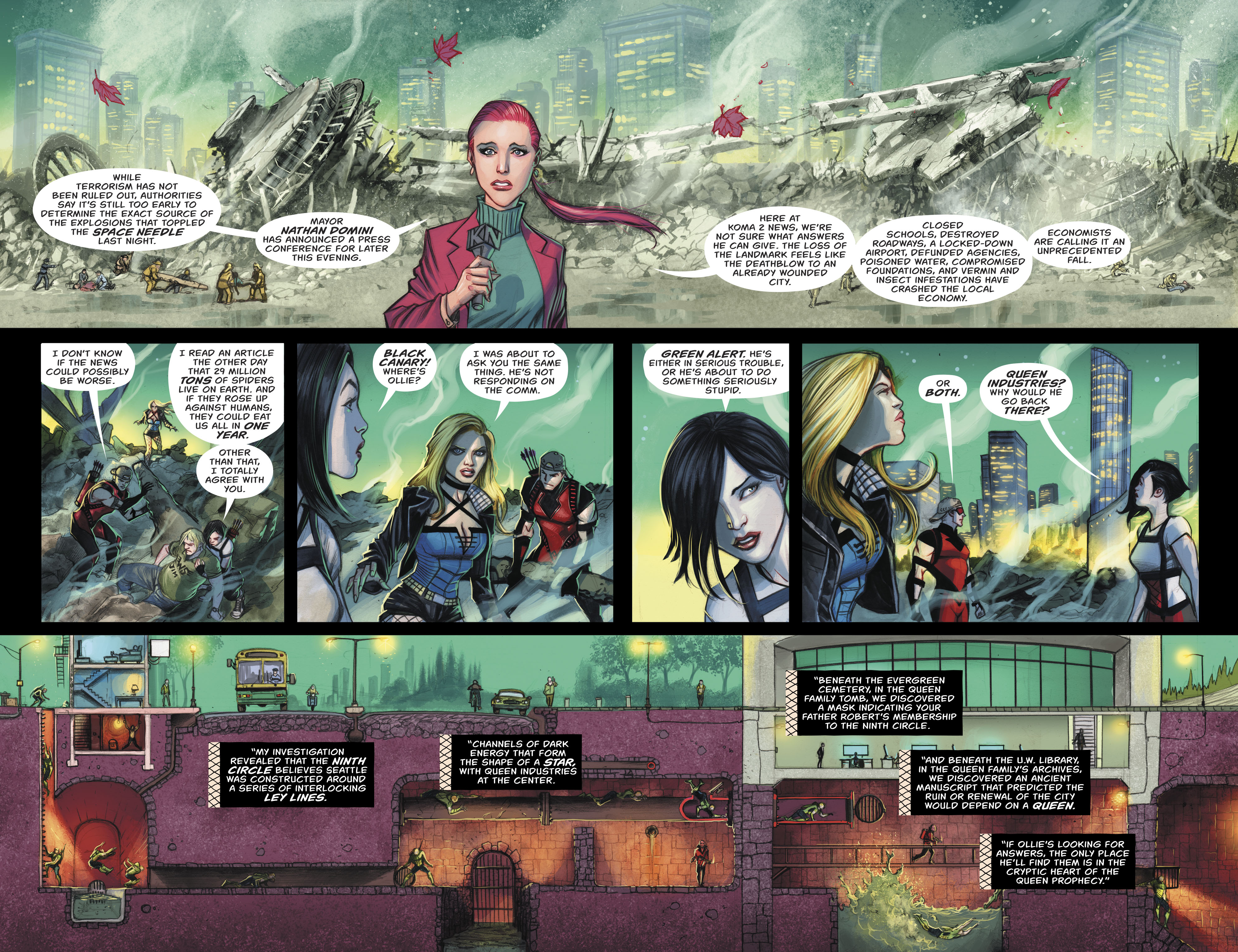 Read online Green Arrow (2016) comic -  Issue #24 - 6