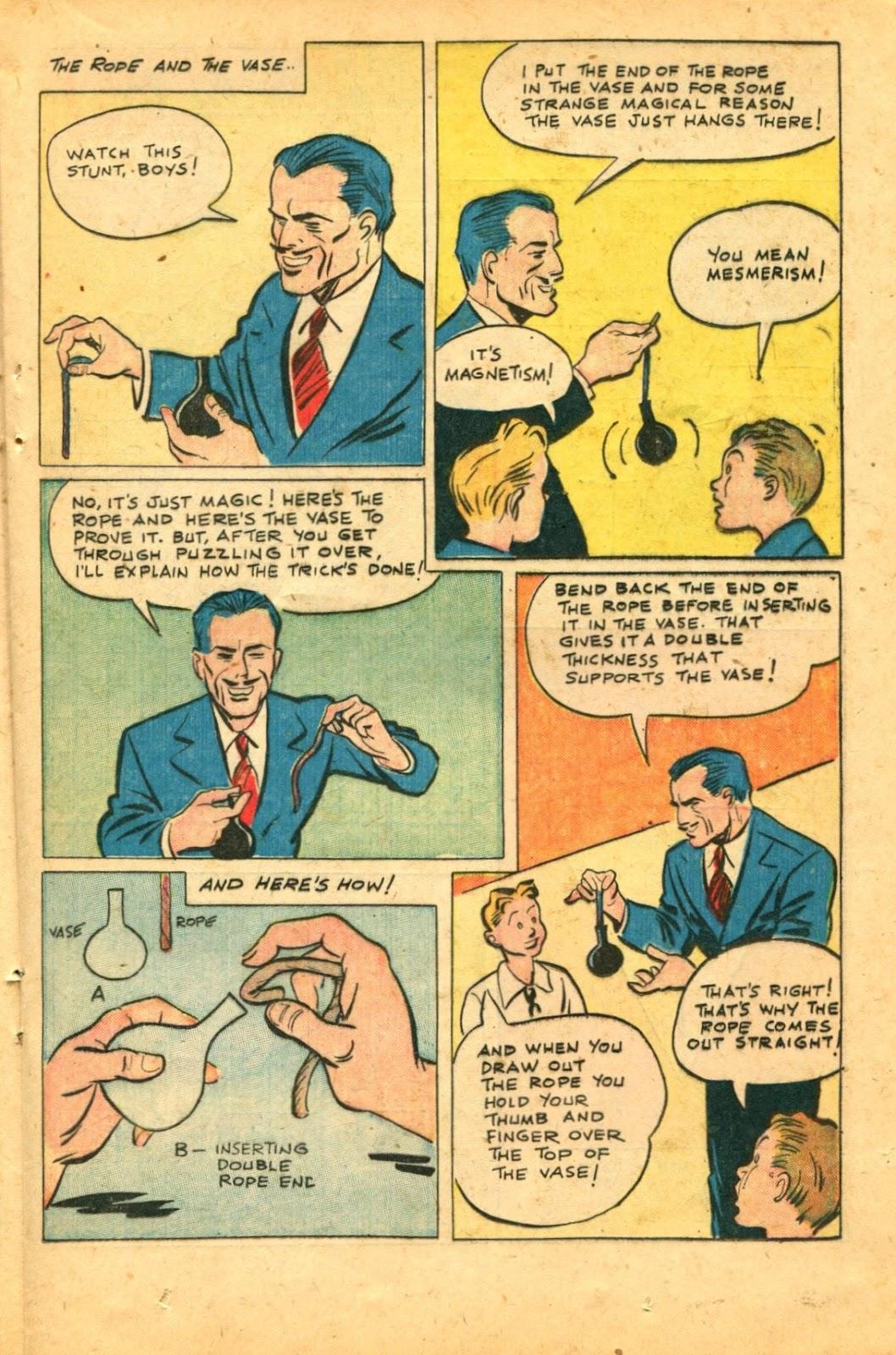Read online Super-Magician Comics comic -  Issue #49 - 25