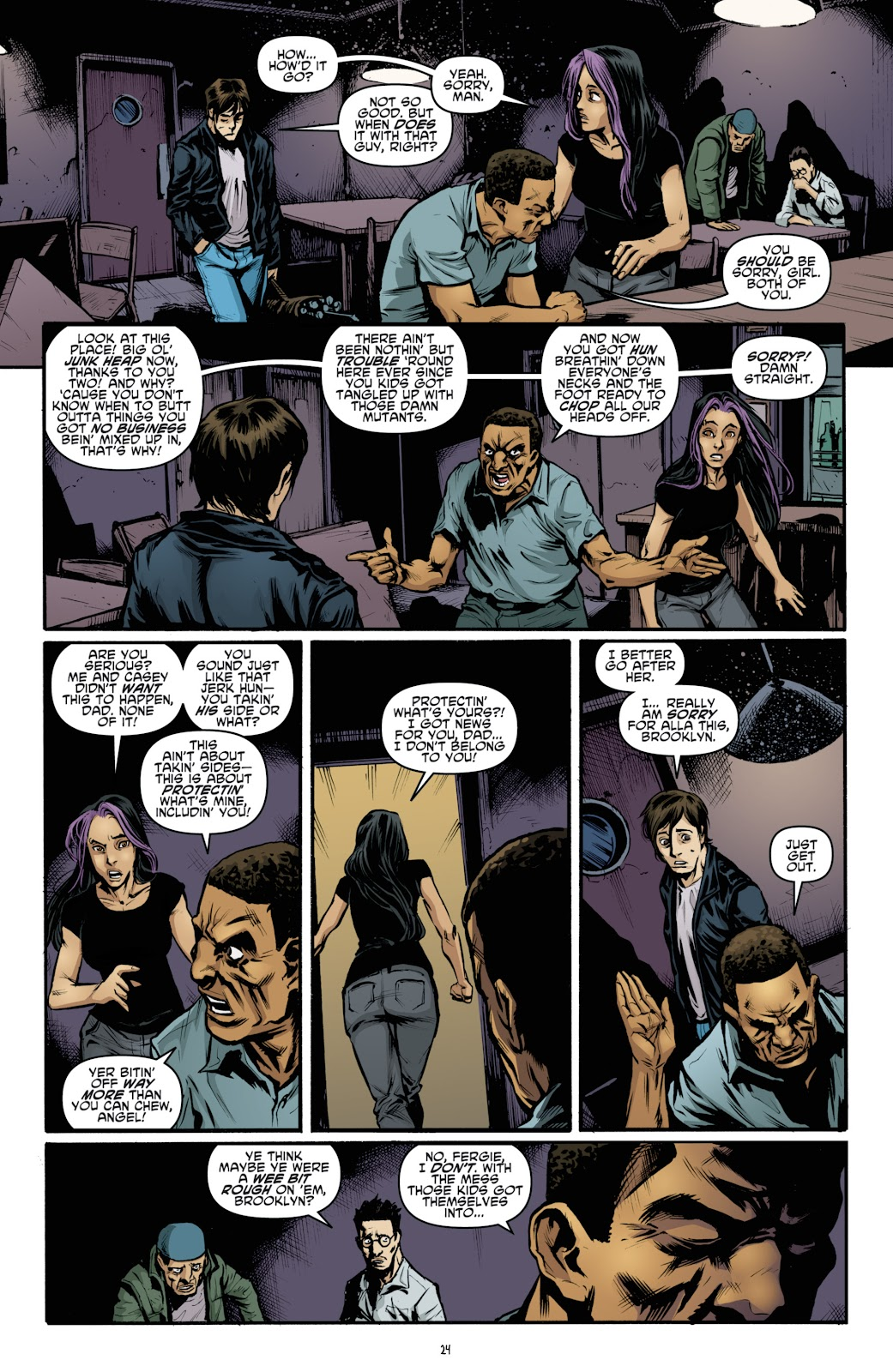 Read online Teenage Mutant Ninja Turtles: The IDW Collection comic -  Issue # TPB 4 (Part 3) - 31
