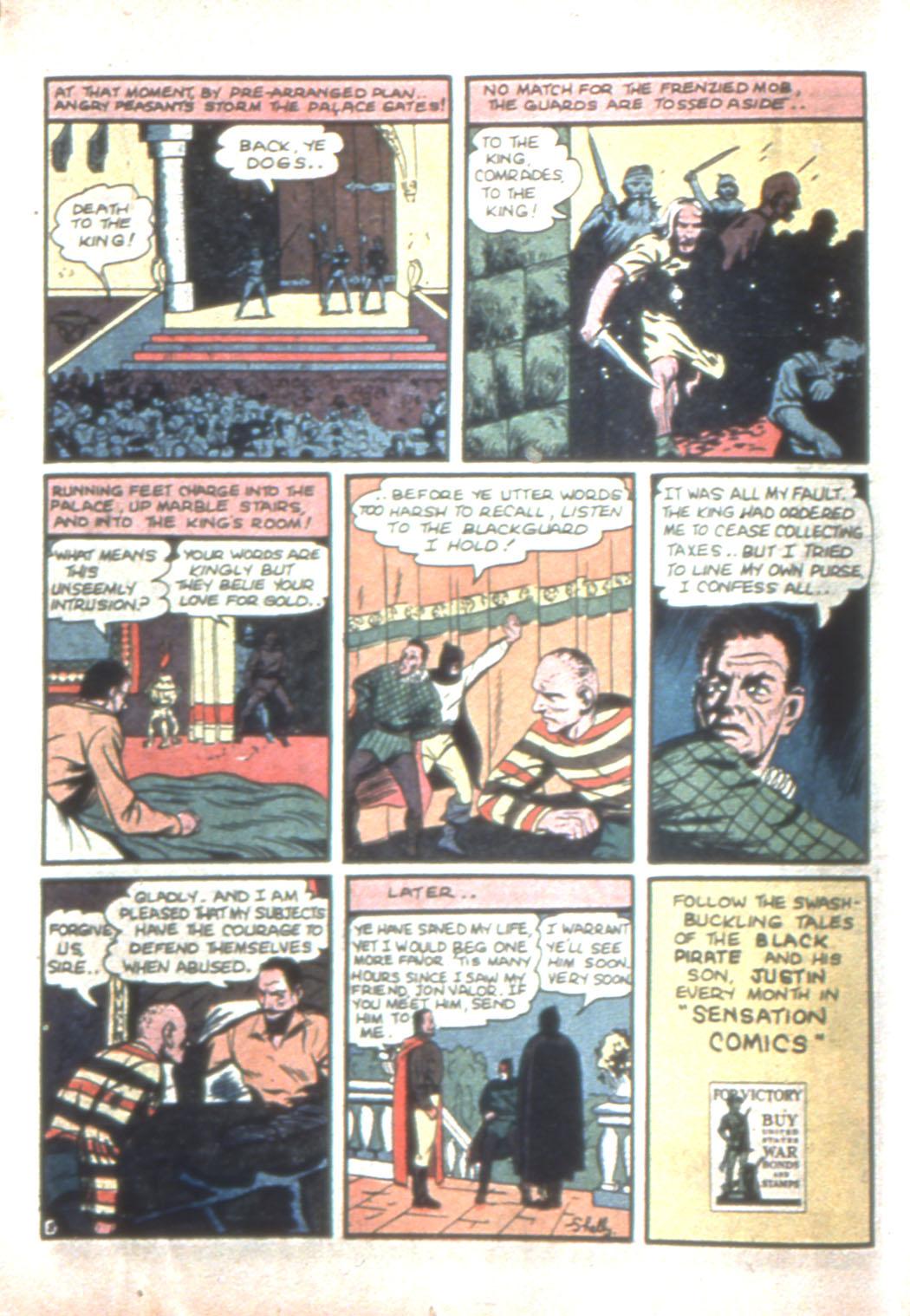 Read online Sensation (Mystery) Comics comic -  Issue #11 - 24