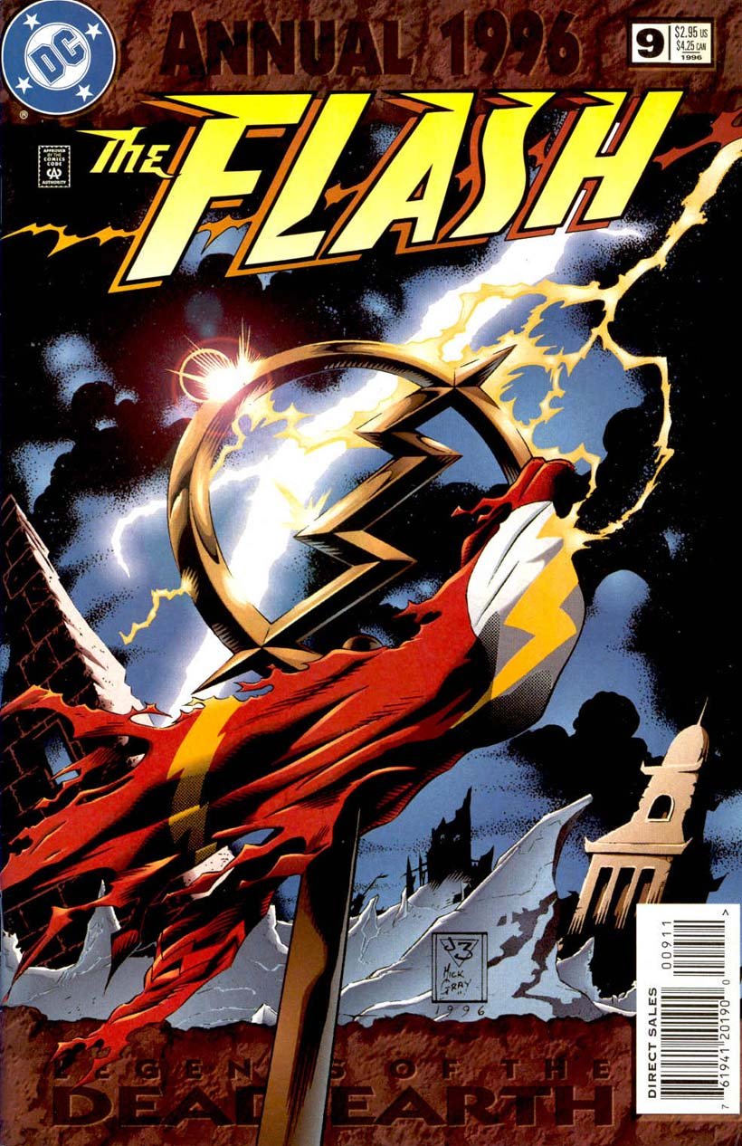 Read online The Flash (1987) comic -  Issue # _Annual 9 - 1