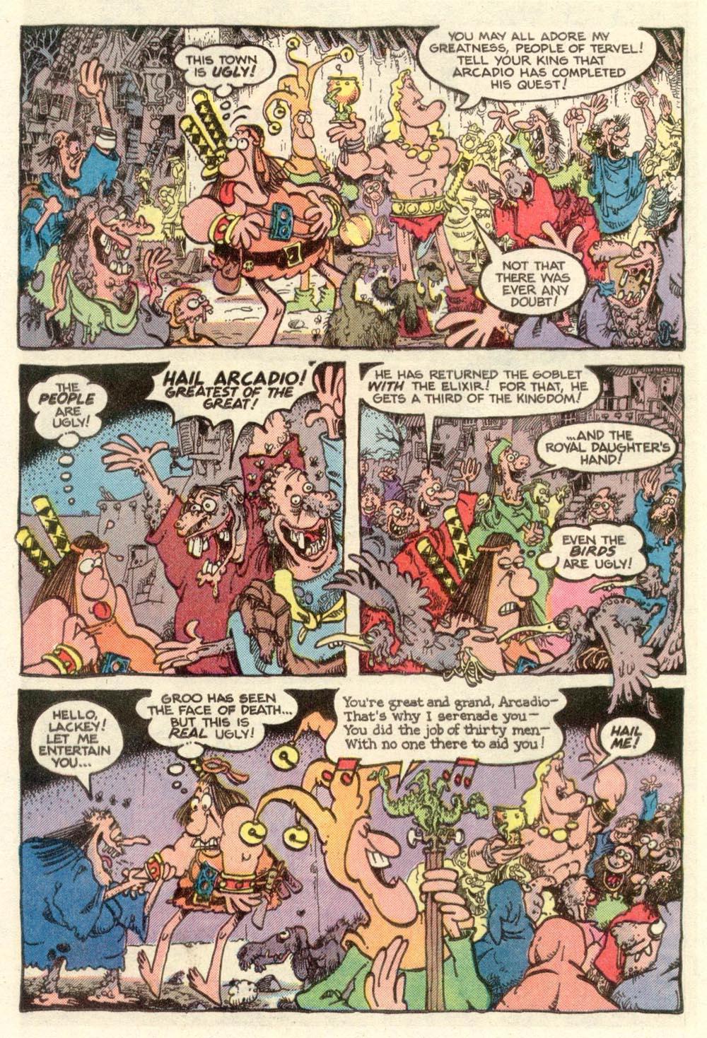 Read online Sergio Aragonés Groo the Wanderer comic -  Issue #11 - 19
