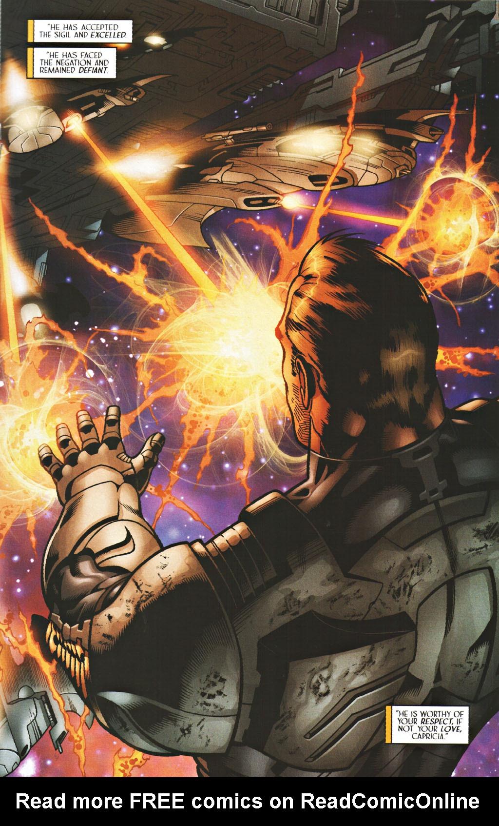 Read online Sigil (2000) comic -  Issue #40 - 17