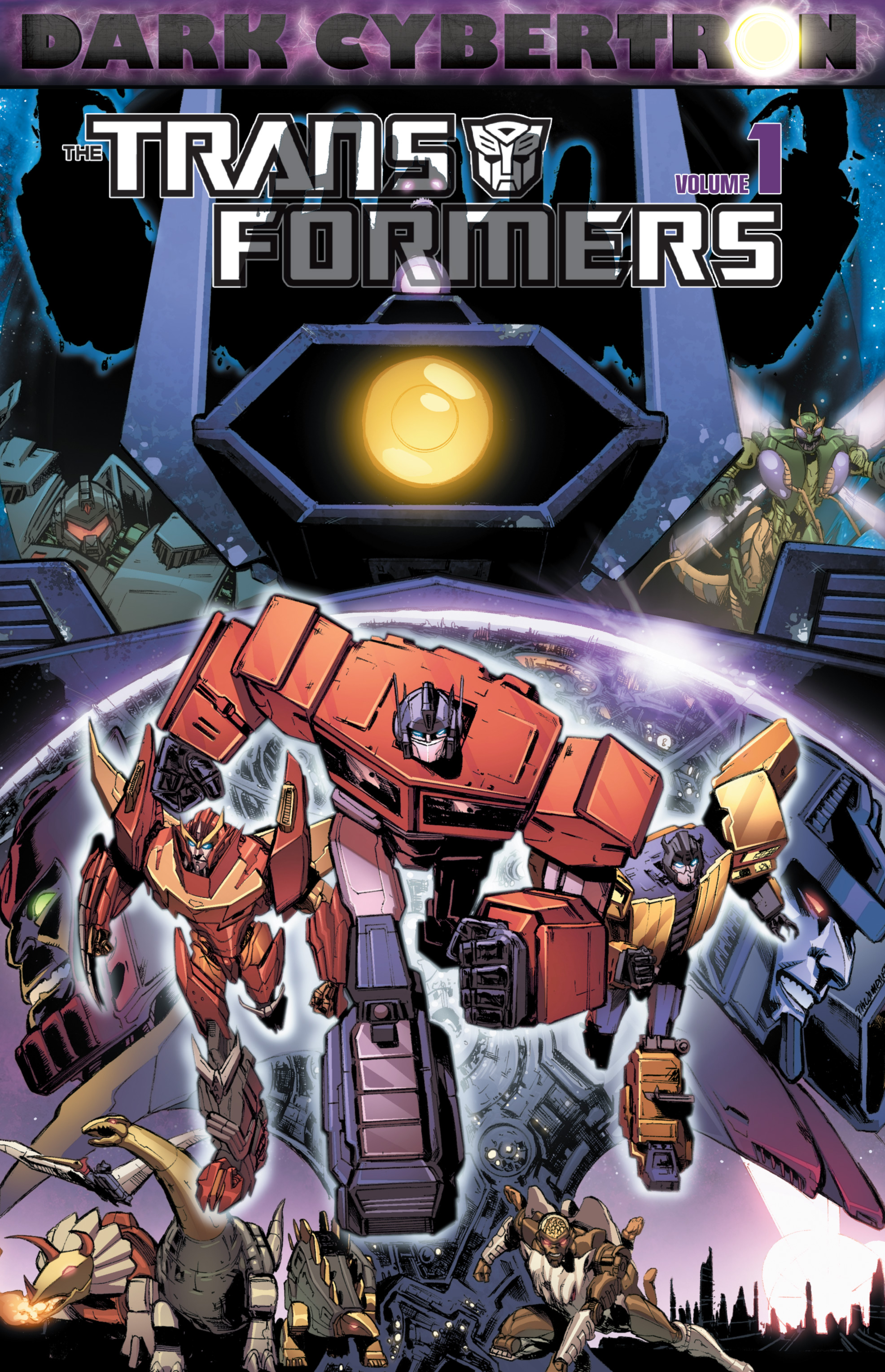 The Transformers: Dark Cybertron TPB_1 Page 1