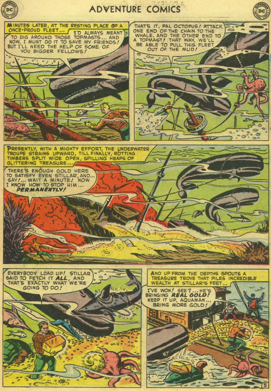 Read online Adventure Comics (1938) comic -  Issue #167 - 21