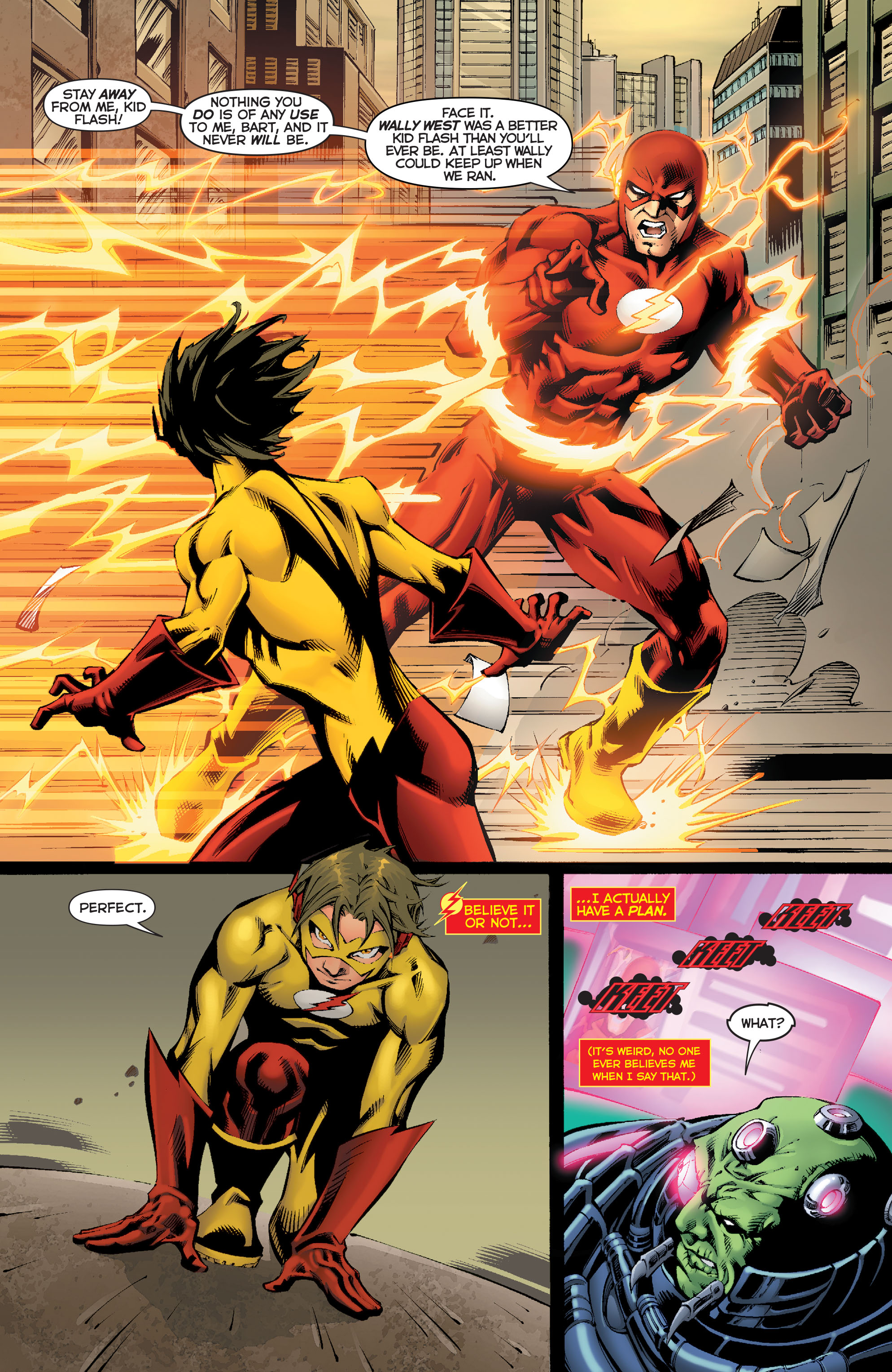 Read online Flashpoint: Kid Flash Lost comic -  Issue #2 - 14