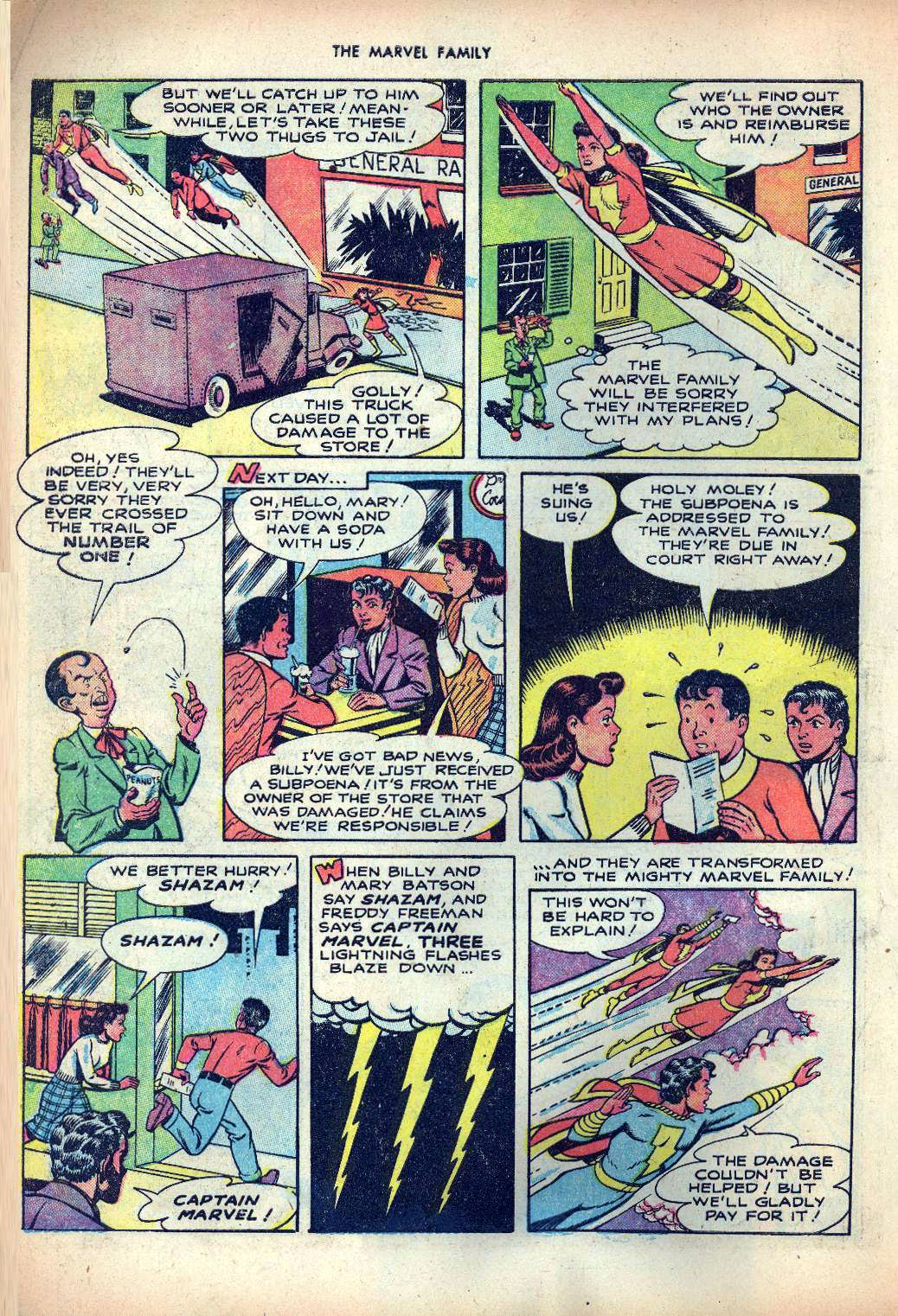 The Marvel Family issue 25 - Page 6