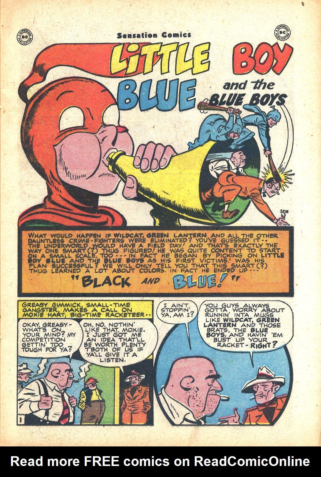 Read online Sensation (Mystery) Comics comic -  Issue #63 - 17