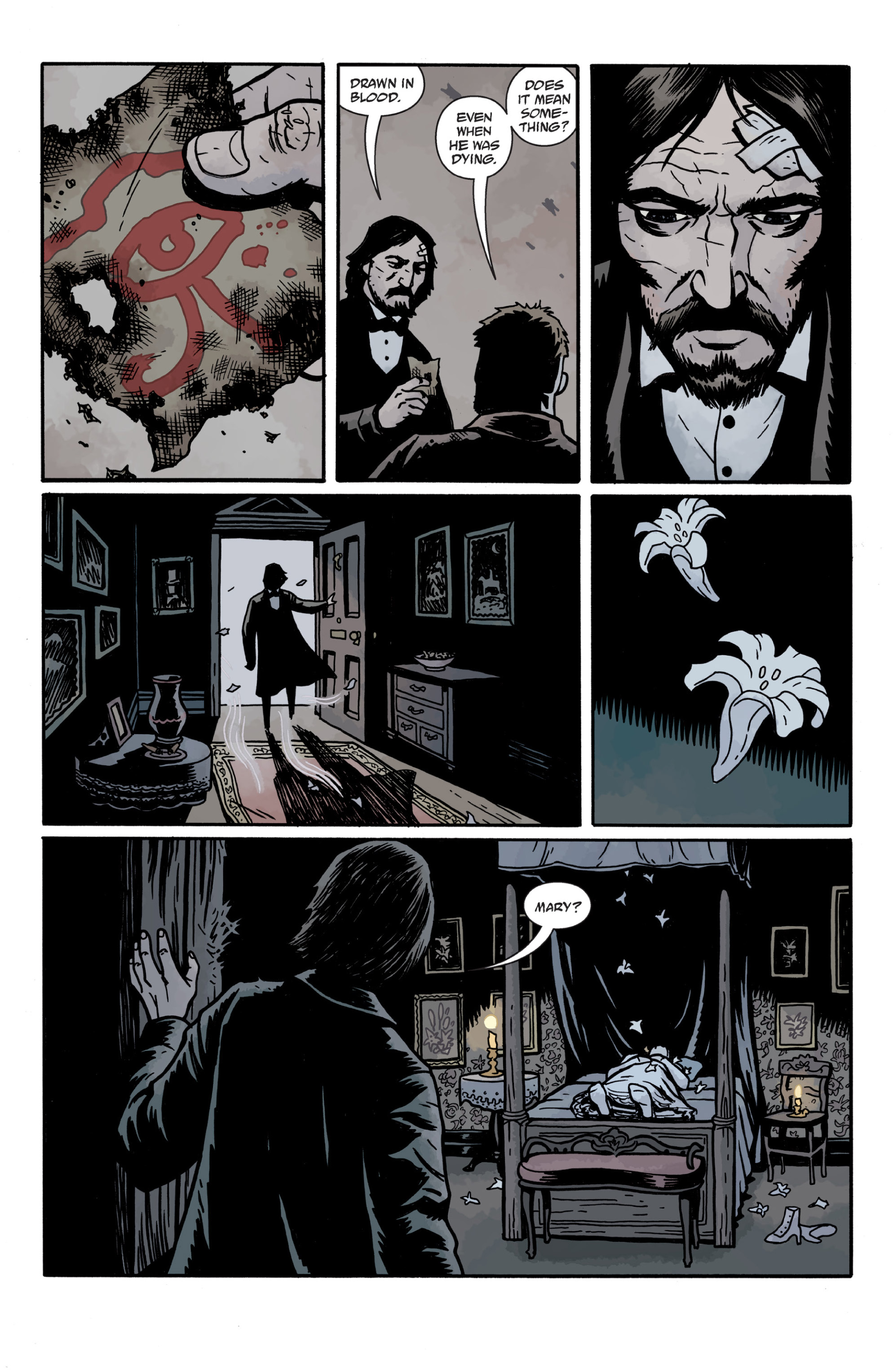 Read online Sir Edward Grey, Witchfinder: In the Service of Angels comic -  Issue # TPB - 121