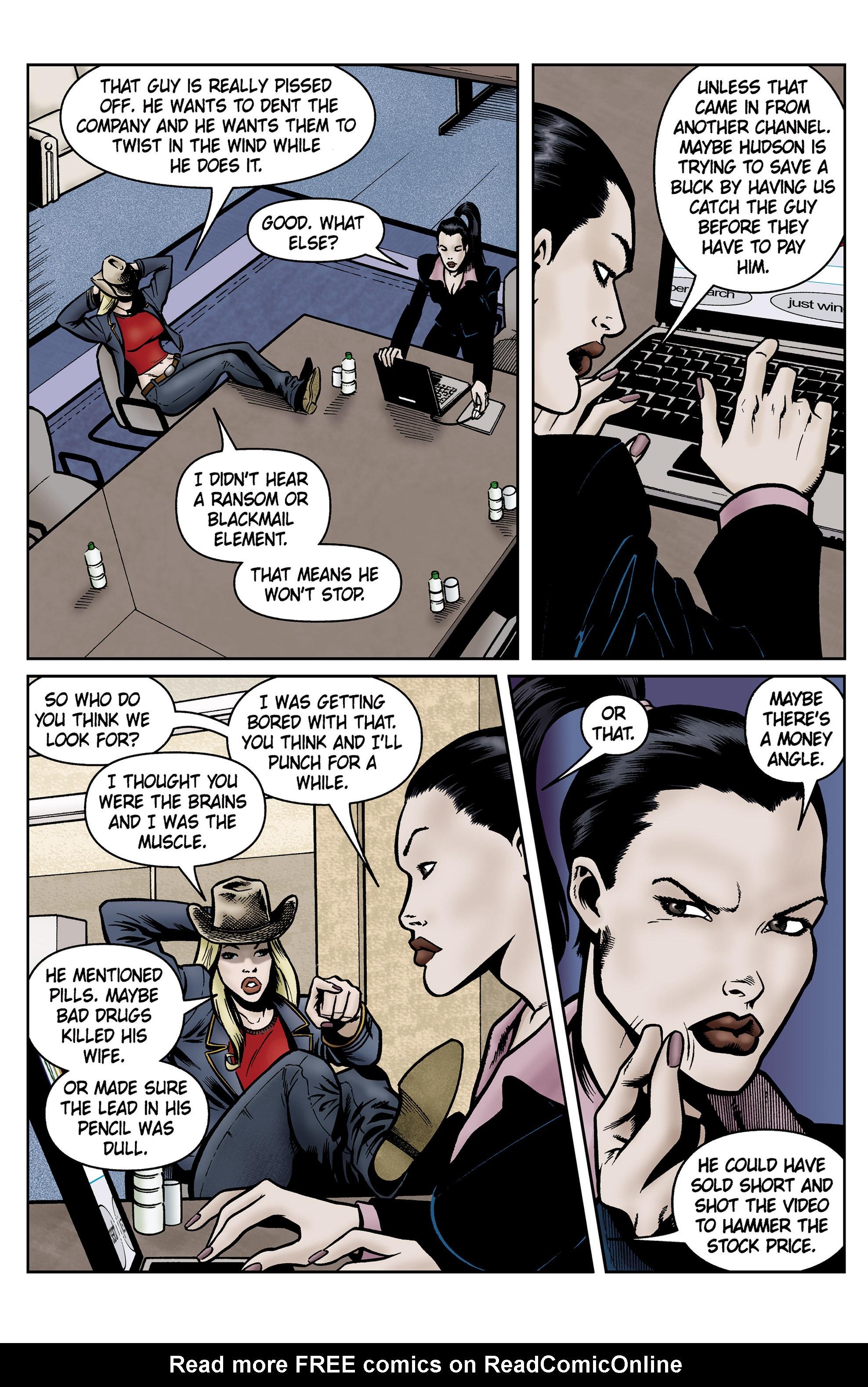 Read online SideChicks comic -  Issue #5 - 31
