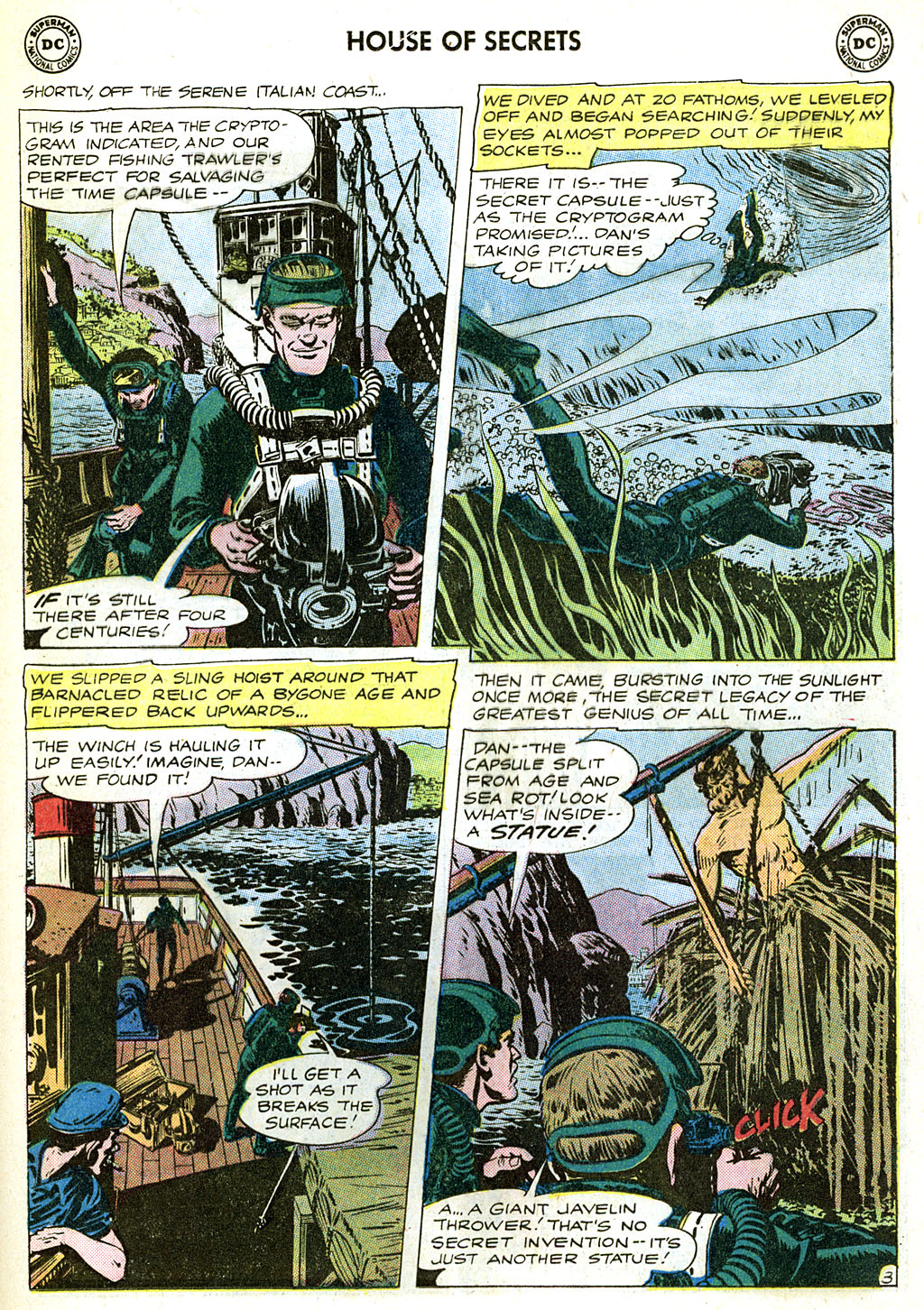 House of Secrets (1956) issue 58 - Page 21