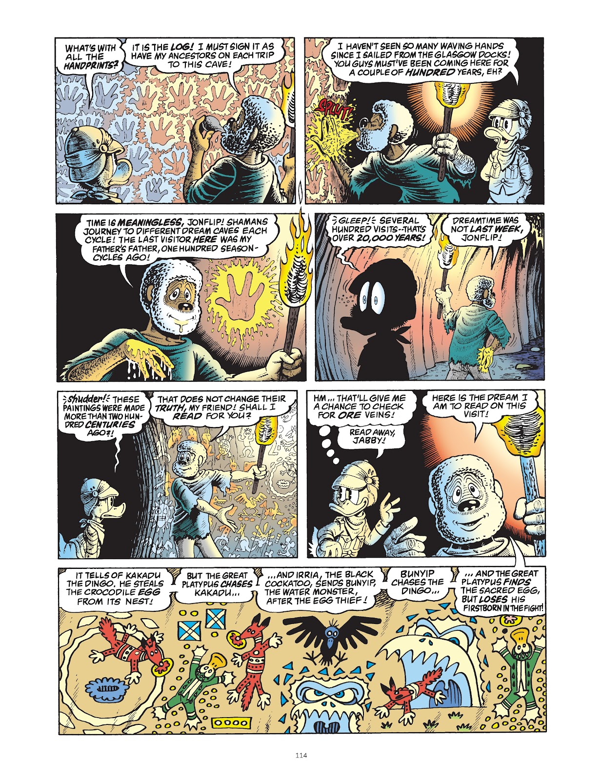 Read online The Complete Life and Times of Scrooge McDuck comic -  Issue # TPB 1 (Part 2) - 14