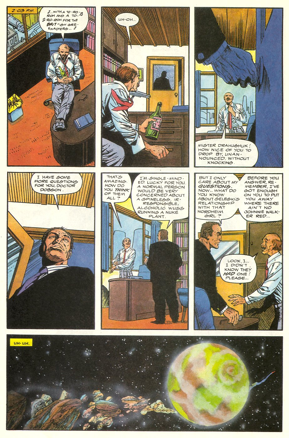 Read online Solar, Man of the Atom comic -  Issue #8 - 8