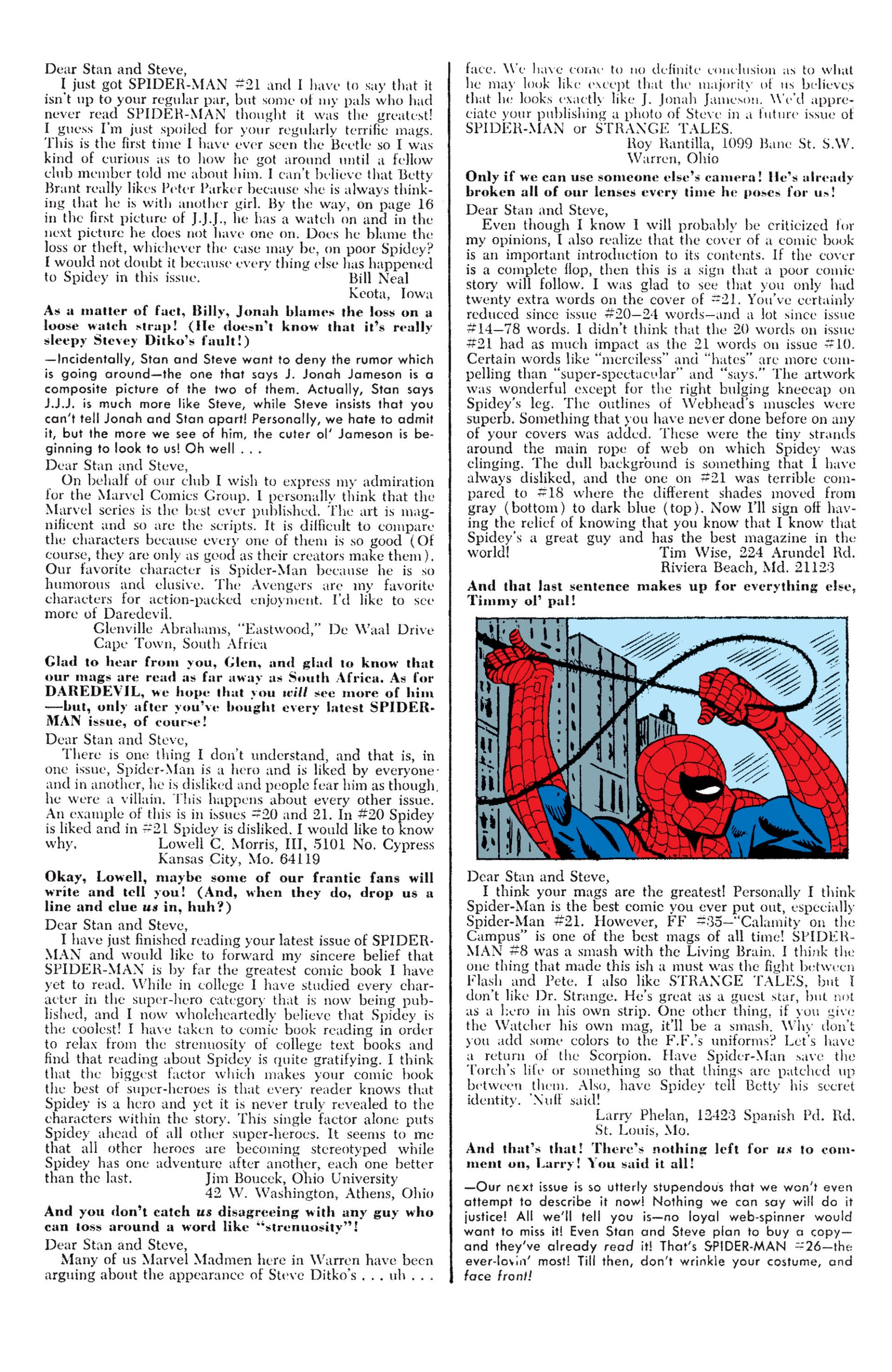 The Amazing Spider-Man (1963) 25 Page 22