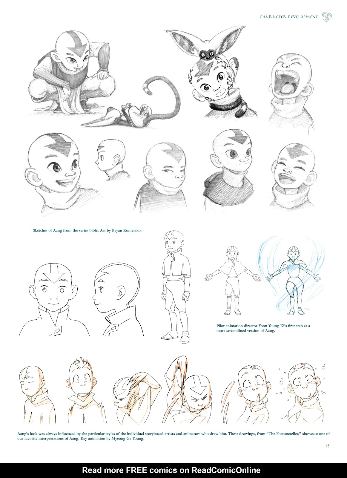 Read online Avatar: The Last Airbender - The Art of the Animated Series comic -  Issue # TPB (Part 1) - 18