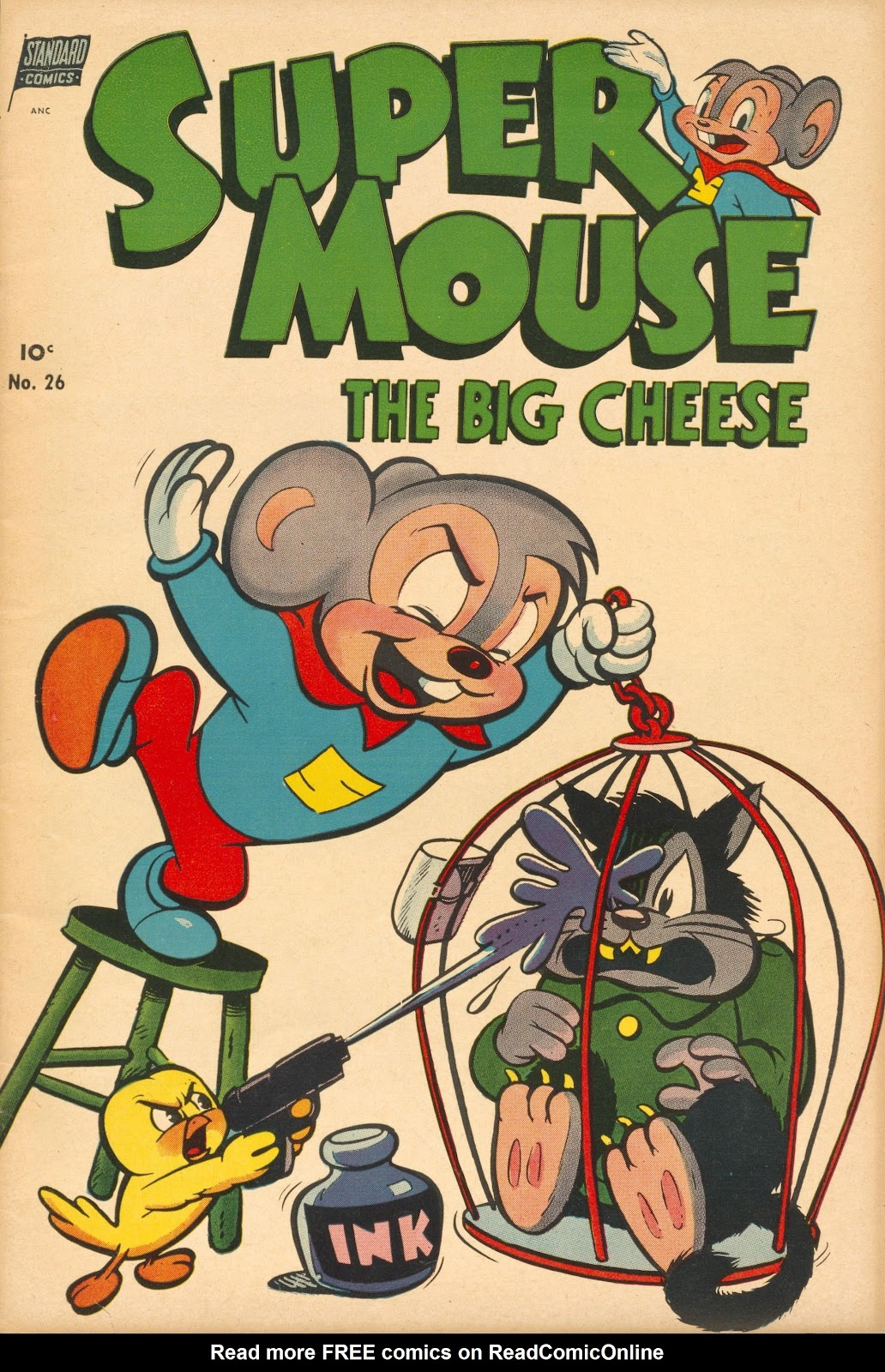 Supermouse issue 26 - Page 1