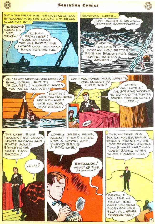 Read online Sensation (Mystery) Comics comic -  Issue #92 - 45