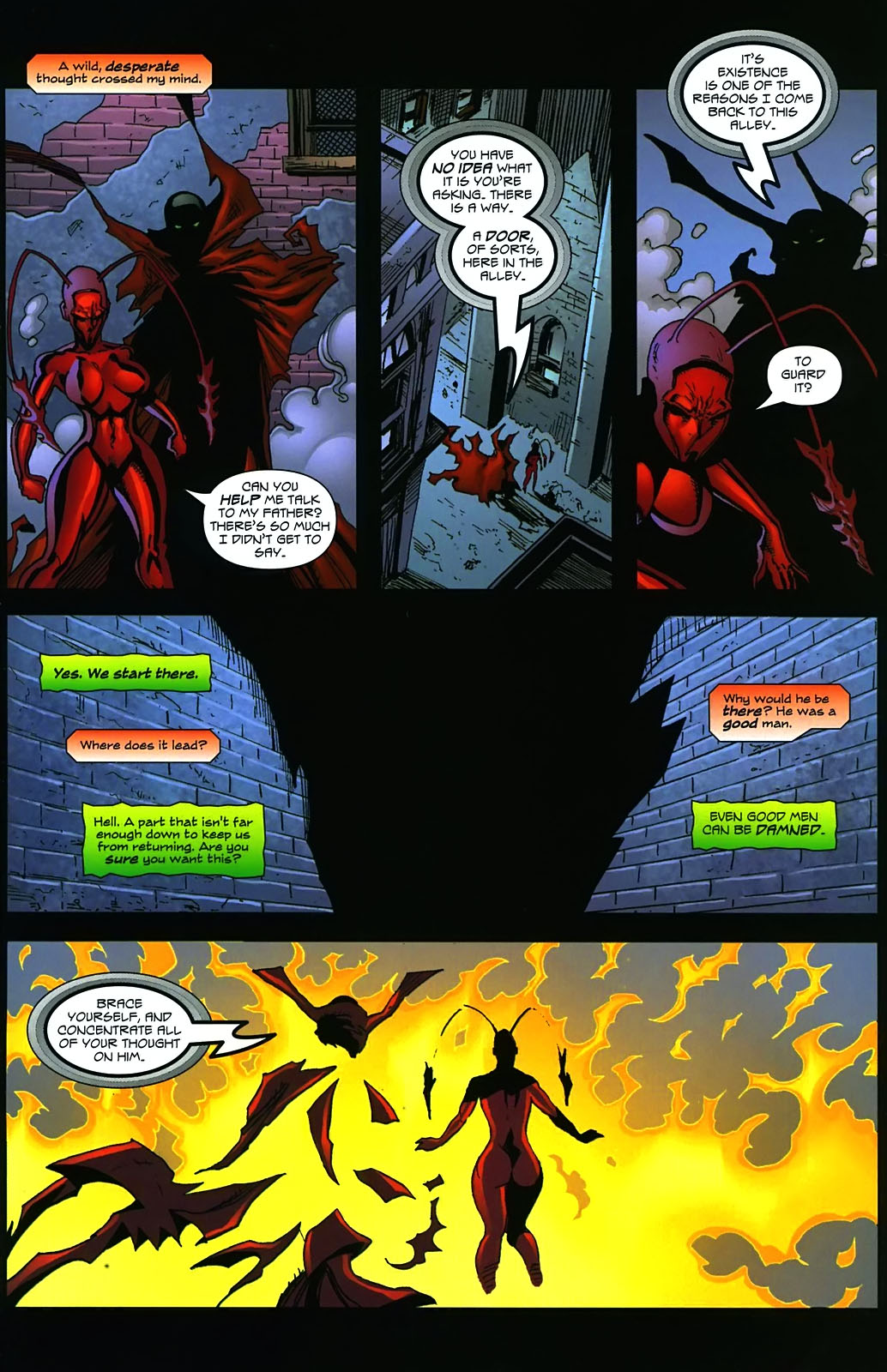 Read online Ant comic -  Issue #3 - 21