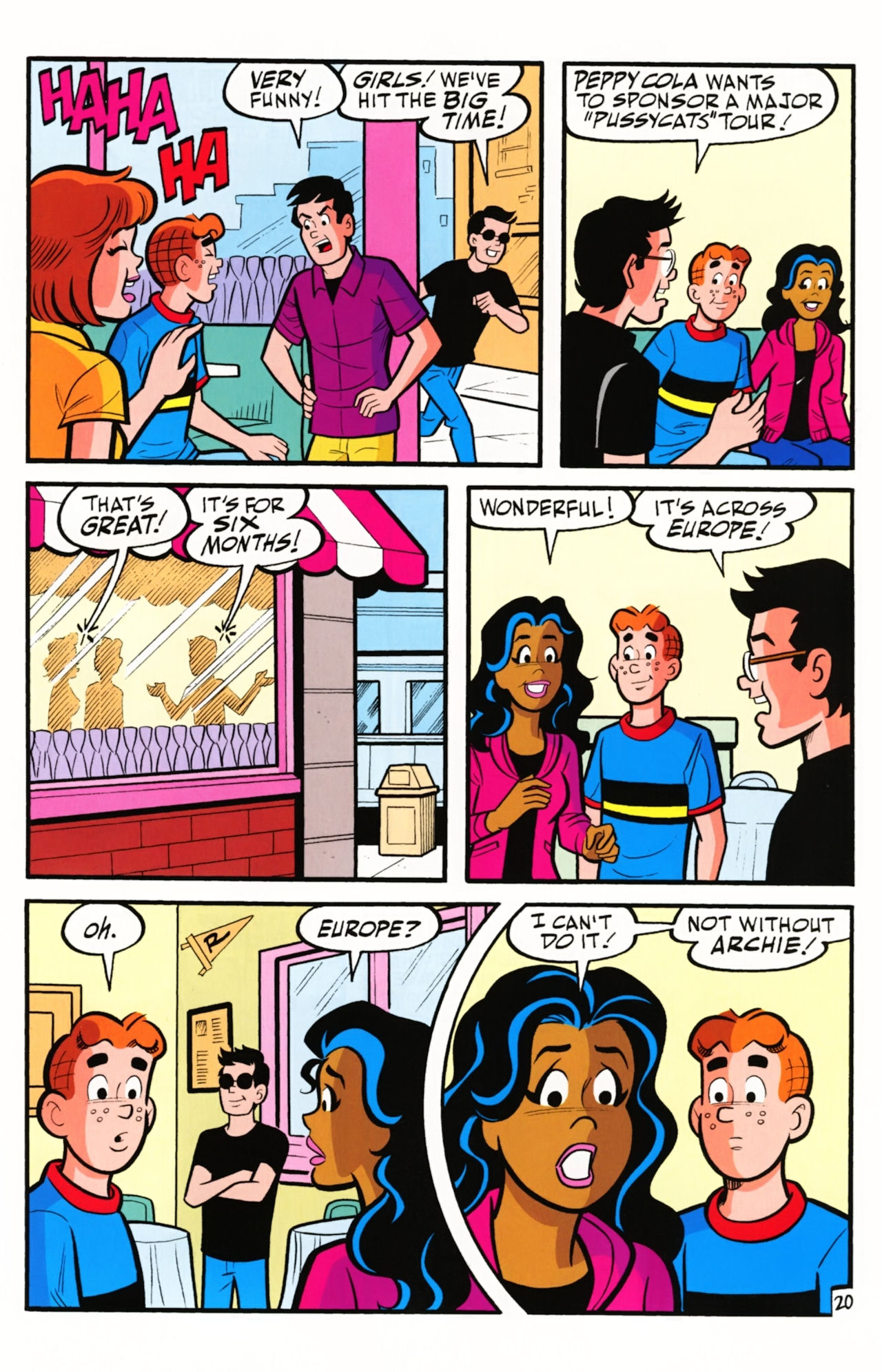 Read online Archie (1960) comic -  Issue #609 - 29