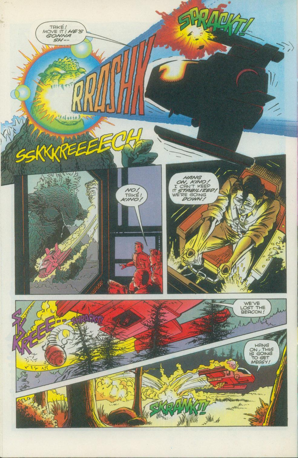Godzilla (1995) Issue #1 #2 - English 17