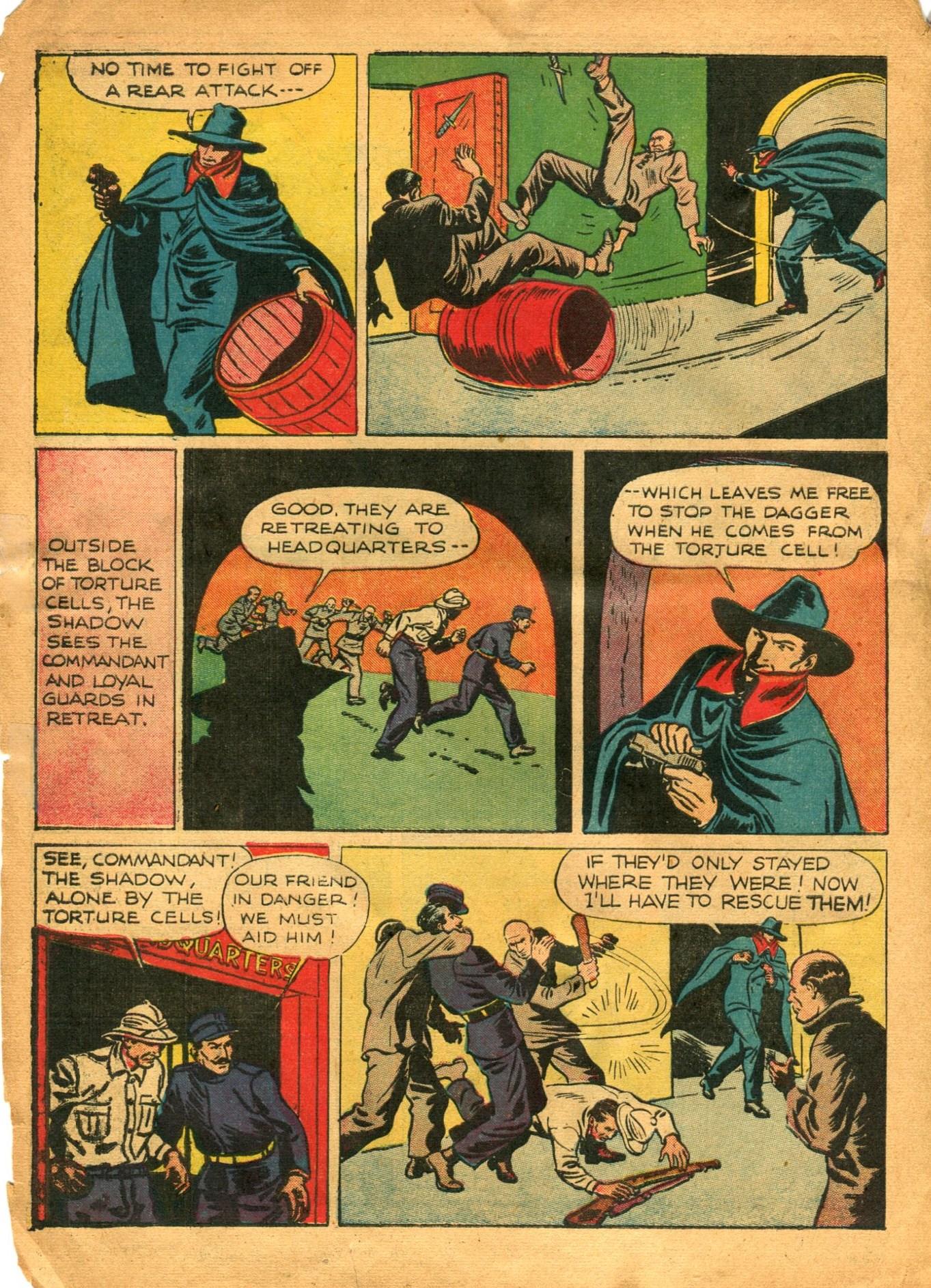 Read online Shadow Comics comic -  Issue #12 - 16