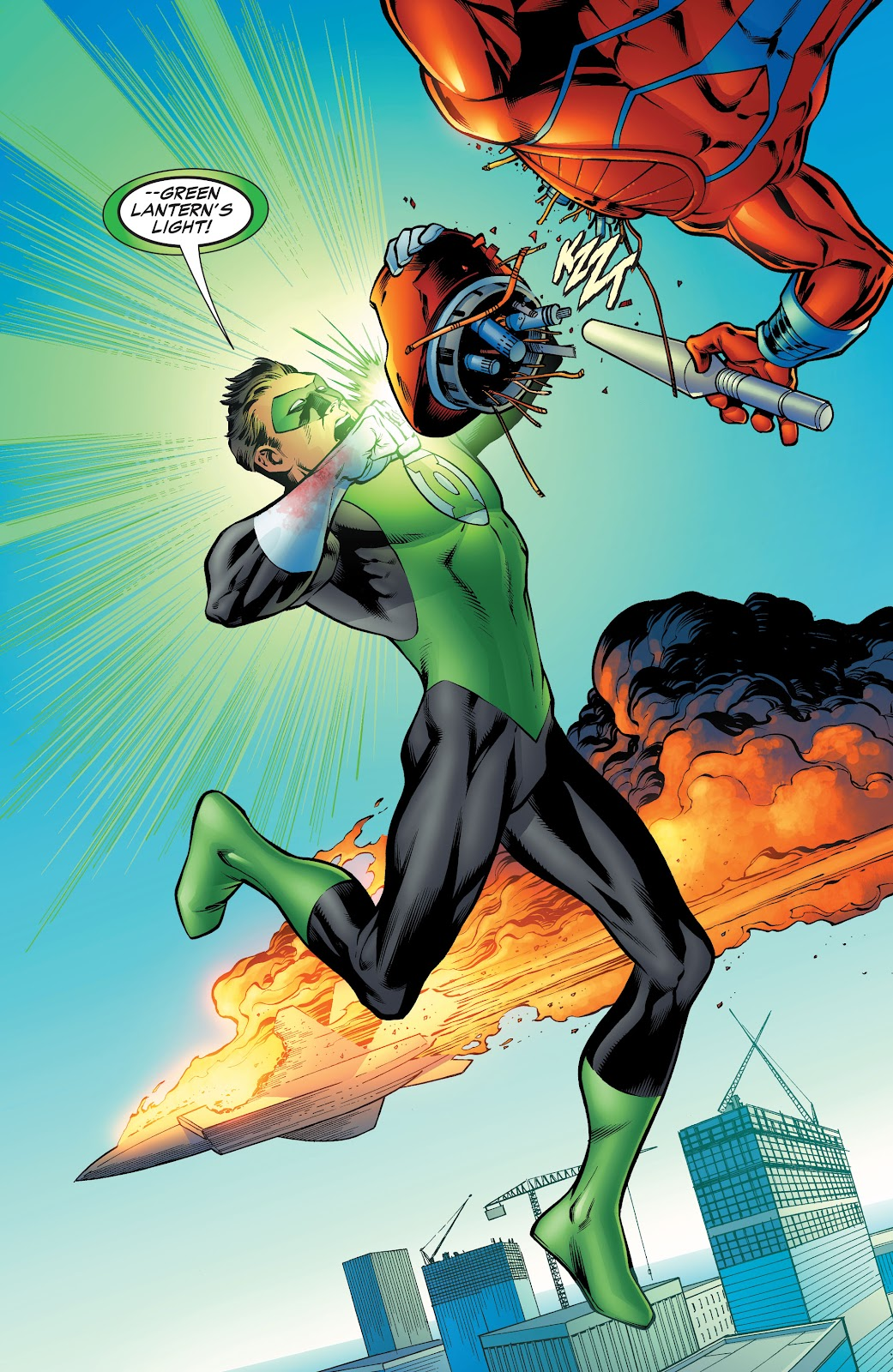 Read online Green Lantern by Geoff Johns comic -  Issue # TPB 1 (Part 4) - 60