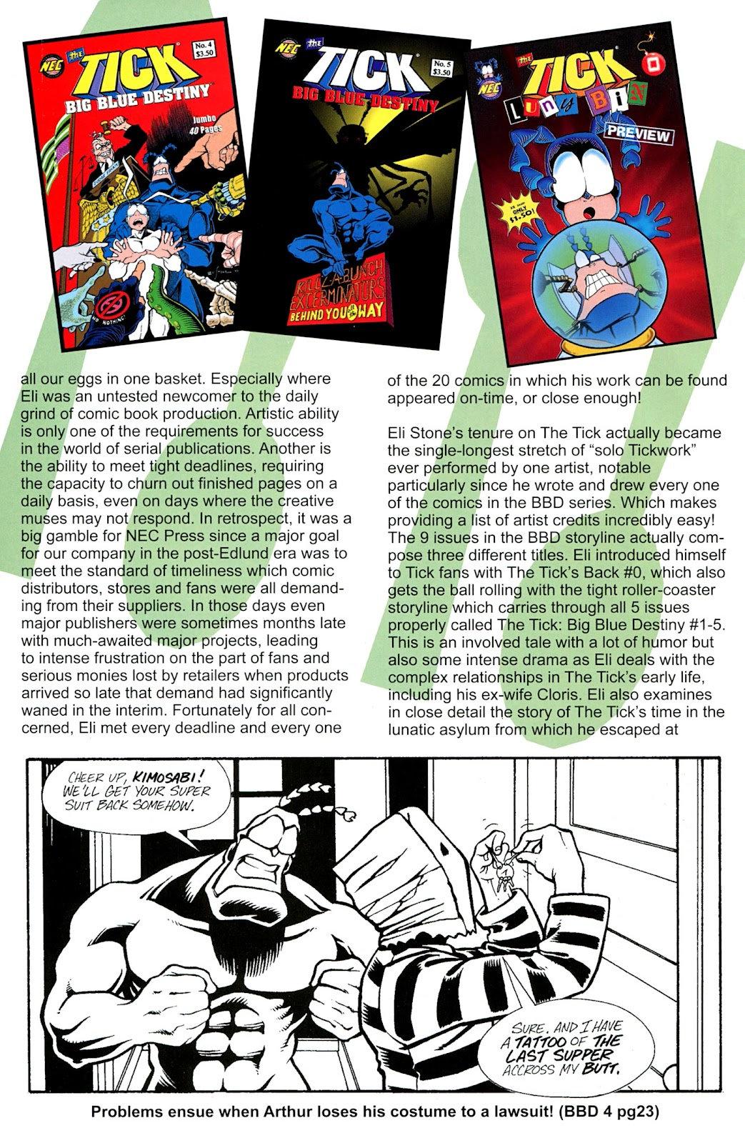 Read online The Tick comic -  Issue #100 - 38