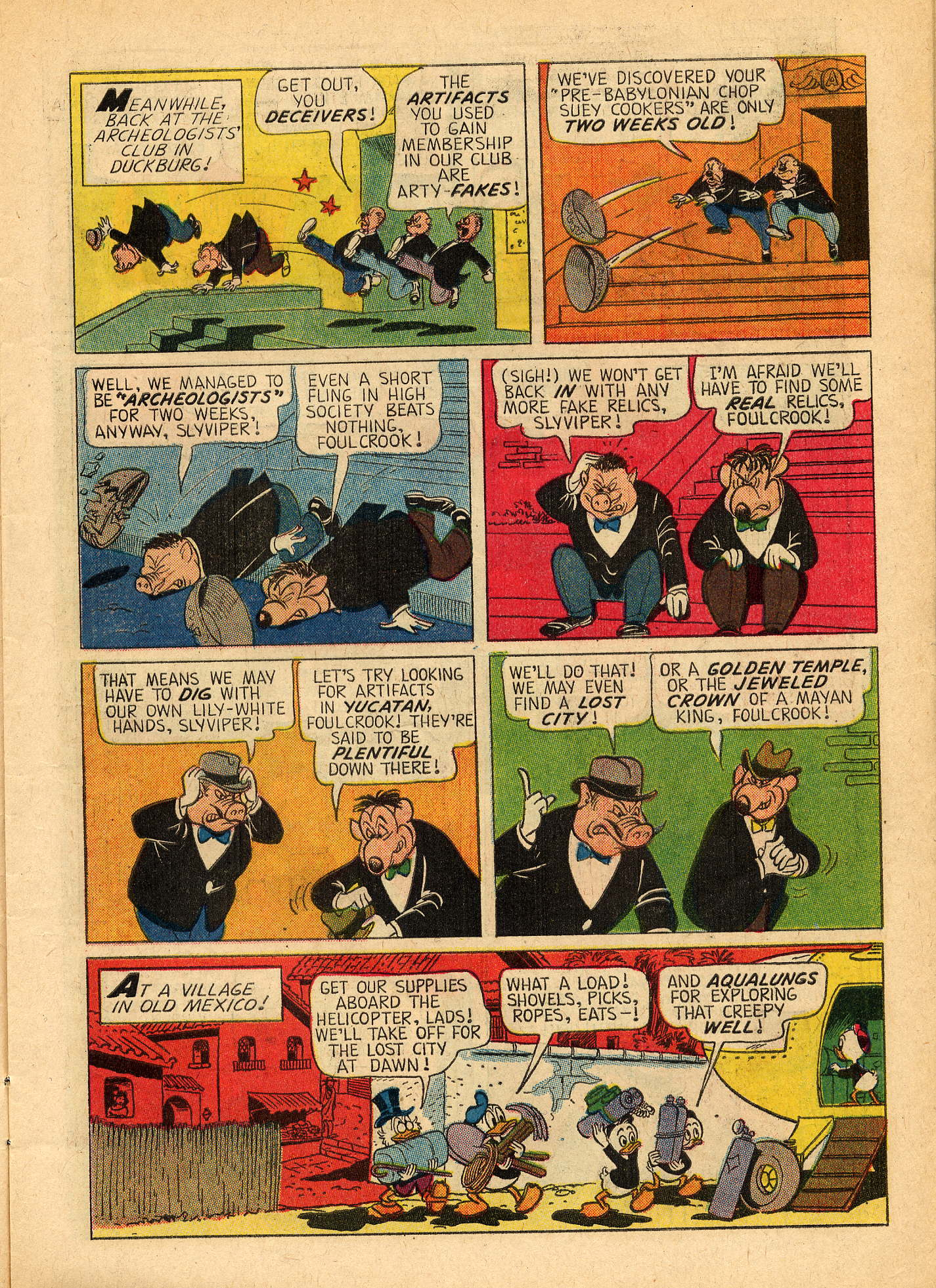 Read online Uncle Scrooge (1953) comic -  Issue #44 - 7