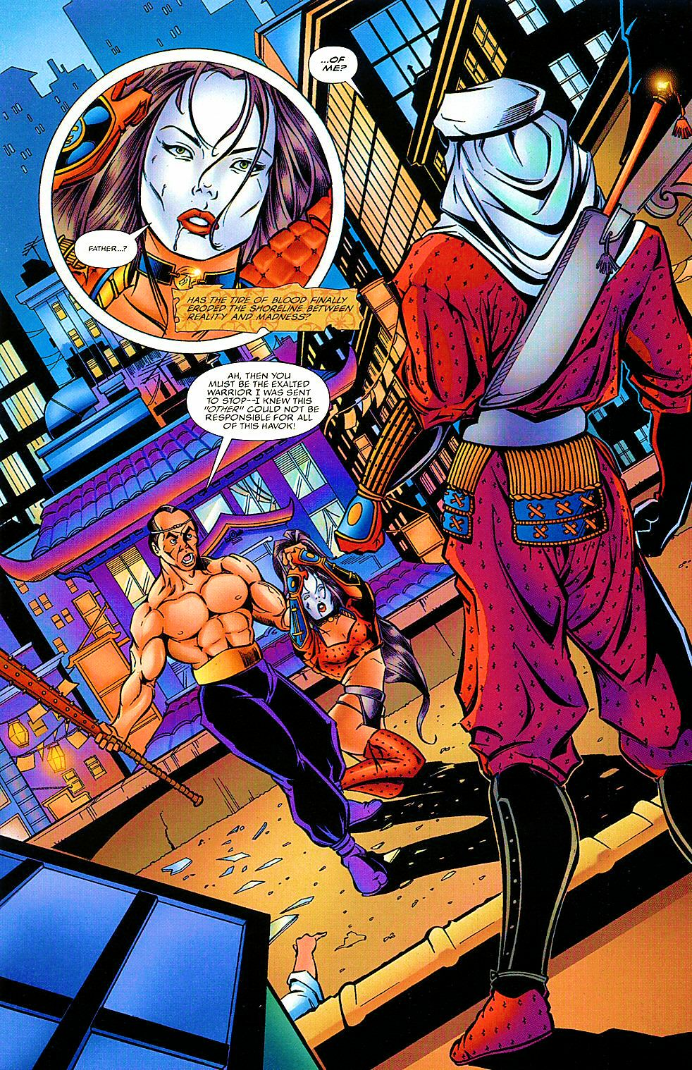 Read online Shi: The Way of the Warrior comic -  Issue #7 - 22