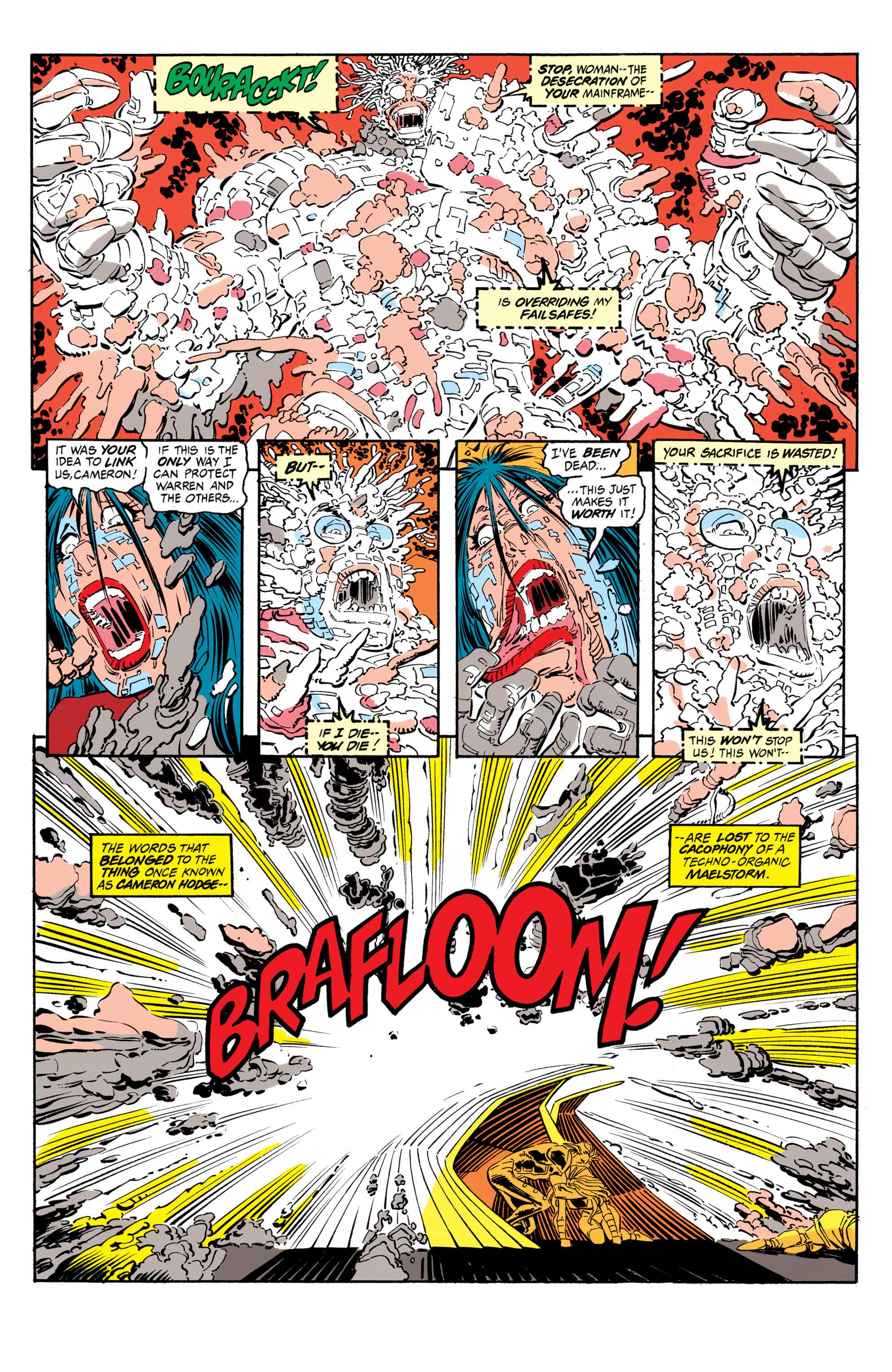 Read online Uncanny X-Men (1963) comic -  Issue #306 - 20
