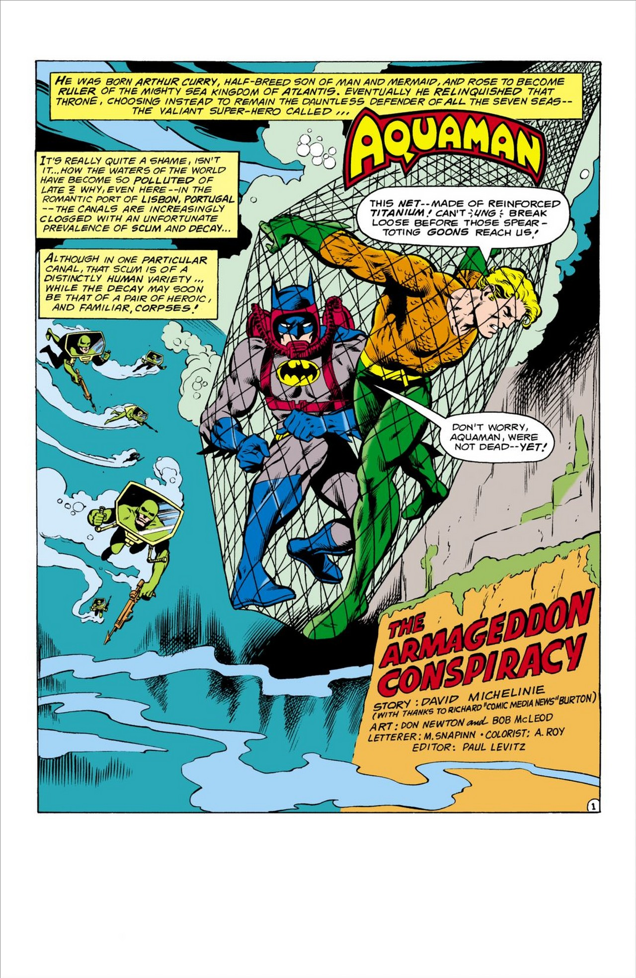 Read online Aquaman (1962) comic -  Issue #61 - 2