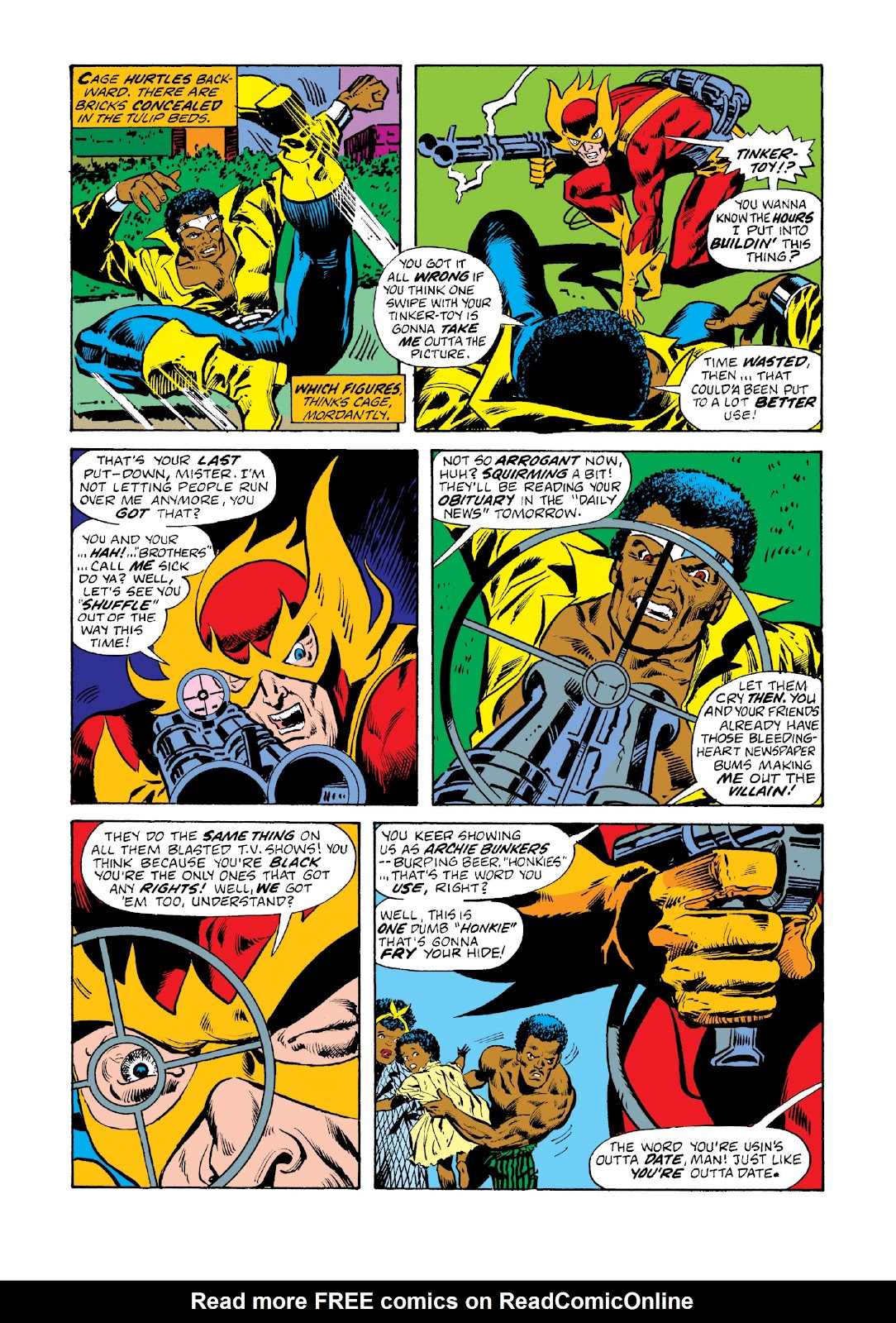 Read online Marvel Masterworks: Luke Cage, Power Man comic -  Issue # TPB 3 (Part 1) - 14