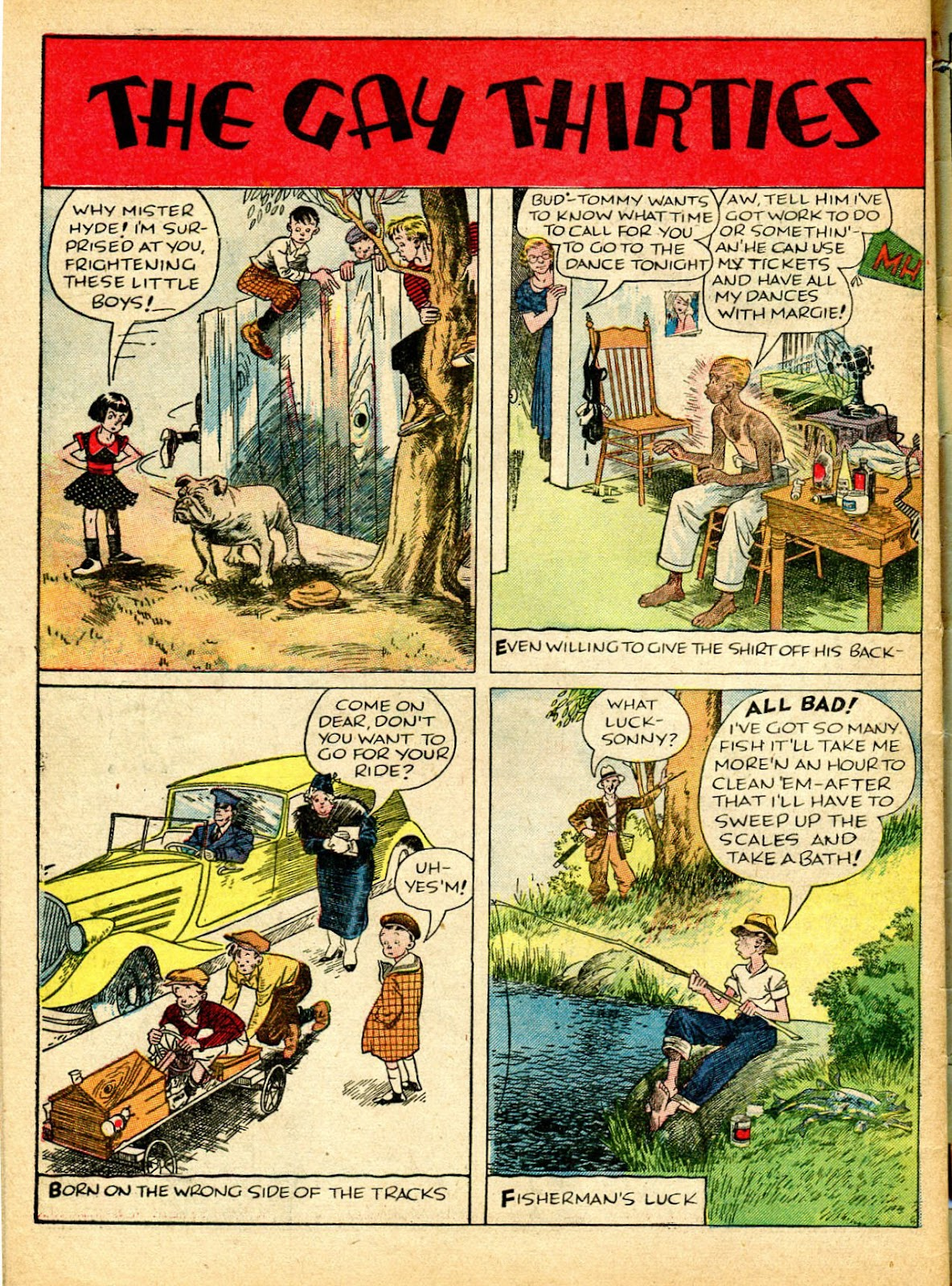 Read online Famous Funnies comic -  Issue #37 - 63