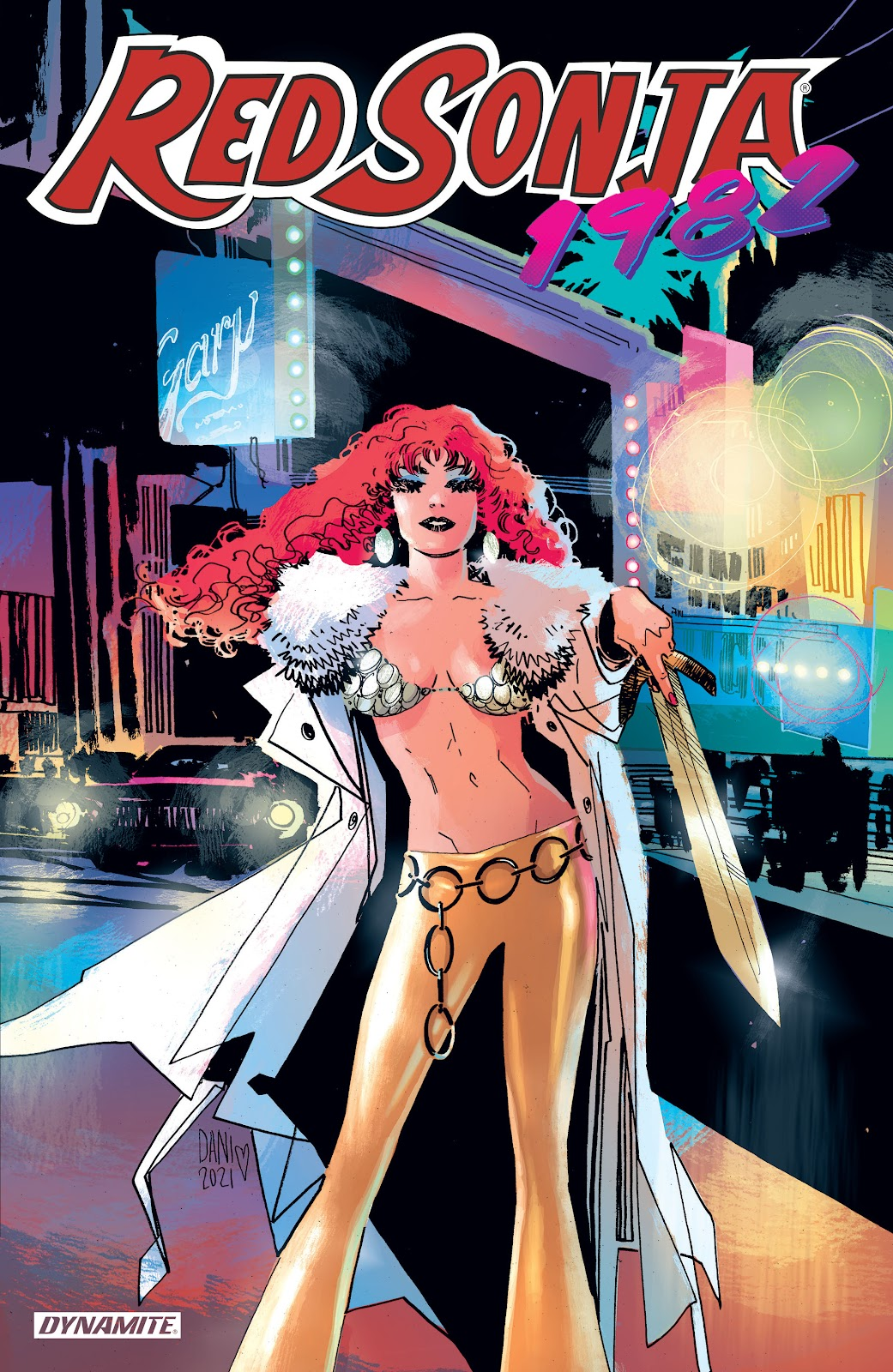 Red Sonja: 1982 One-Shot issue Full - Page 1