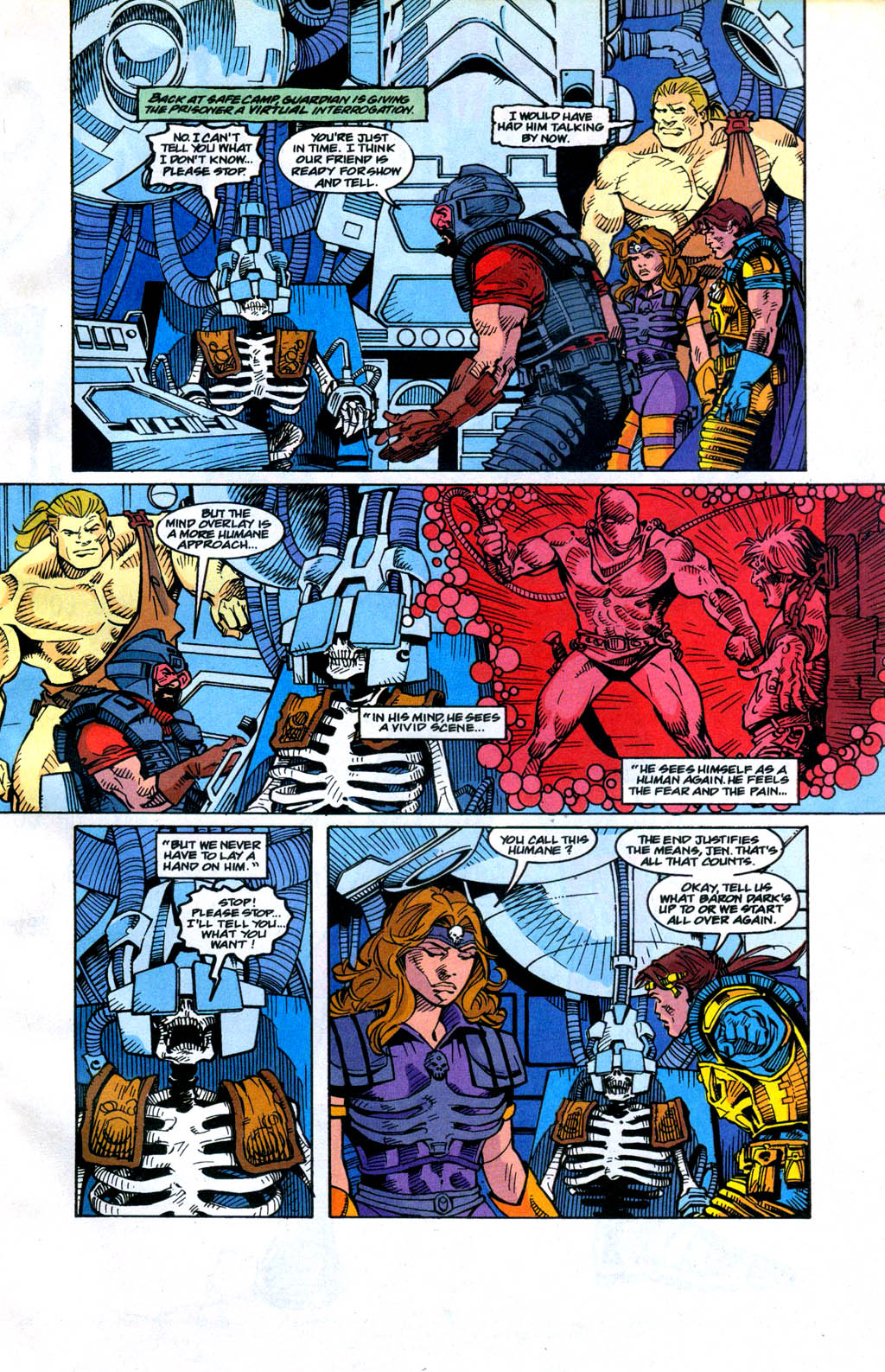 Skeleton Warriors Issue #4 #4 - English 13