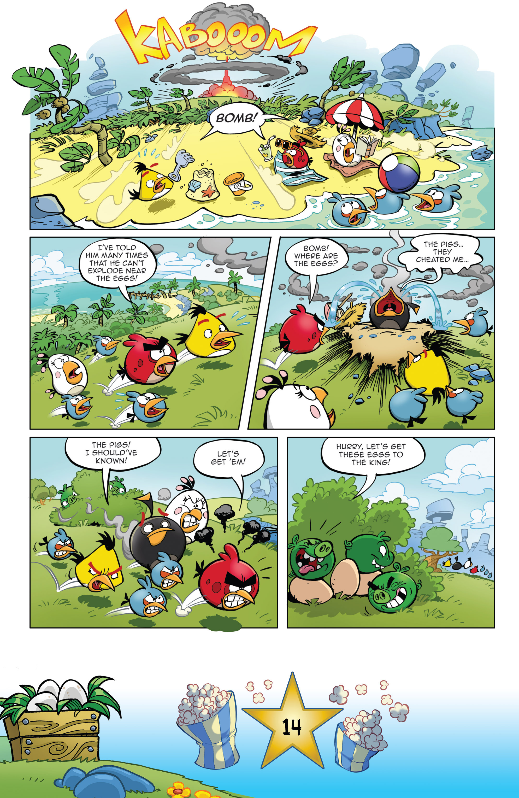 Read online Angry Birds Comics (2016) comic -  Issue #5 - 16